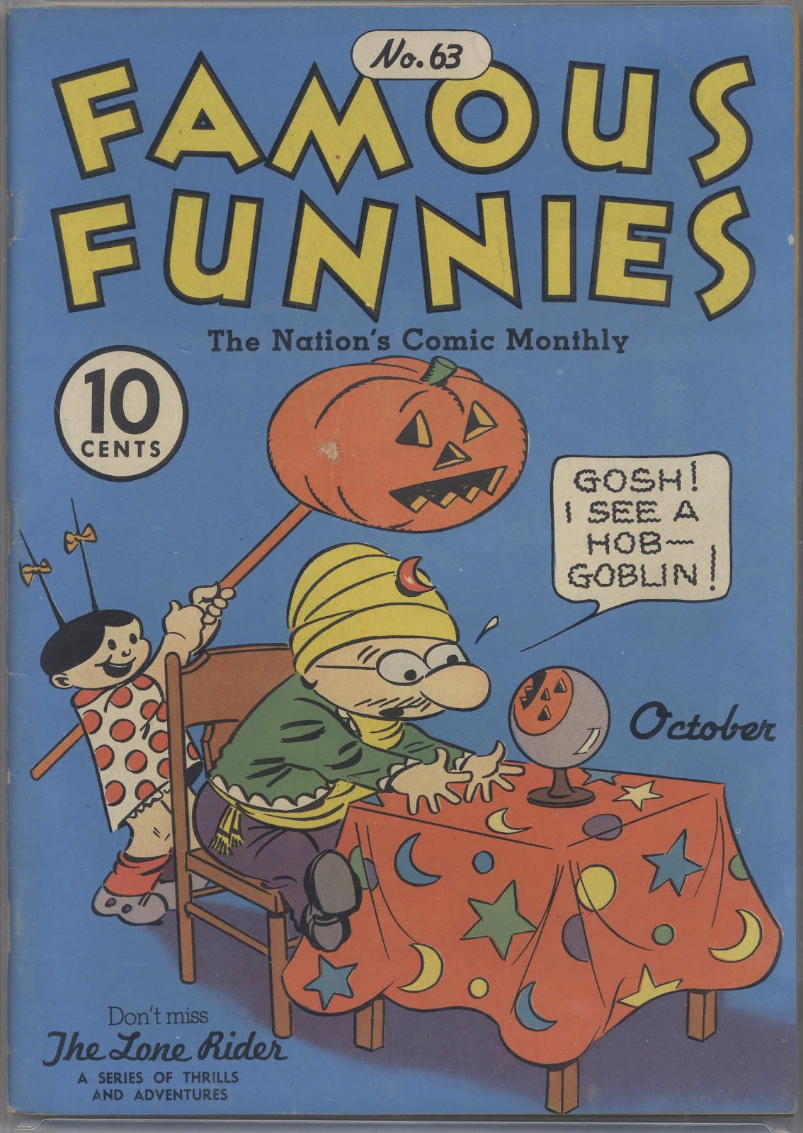 Read online Famous Funnies comic -  Issue #63 - 1