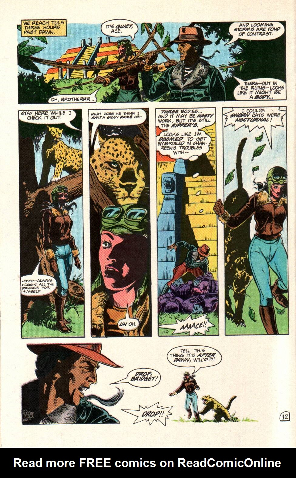 Read online Aztec Ace comic -  Issue #11 - 11