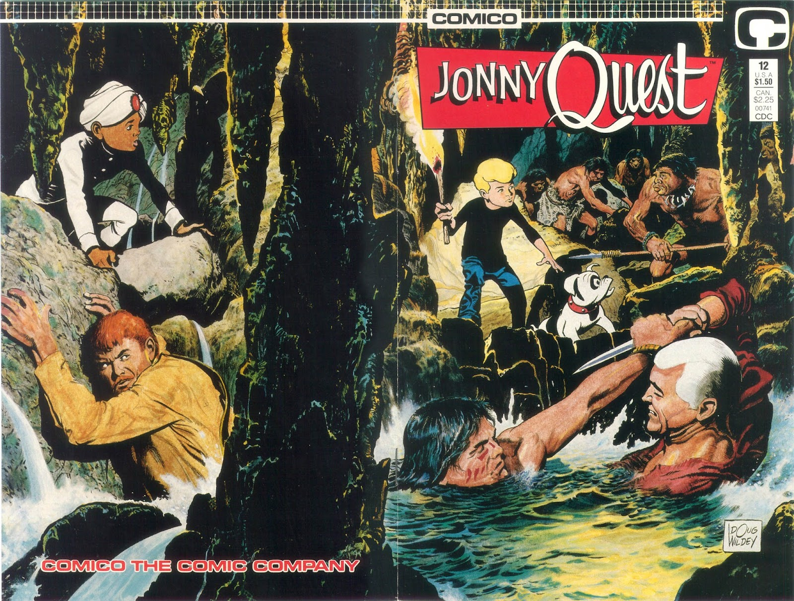 Jonny Quest (1986) issue 12 - Page 1