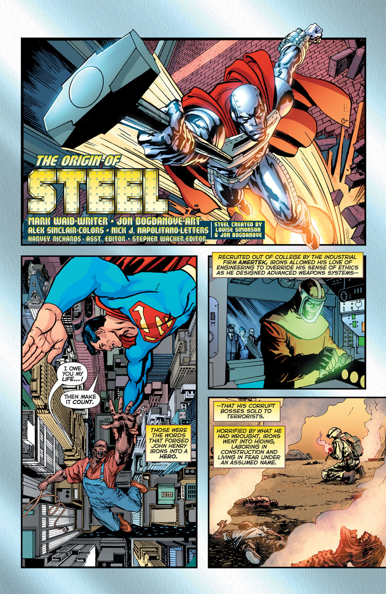Read online 52 comic -  Issue #15 - 23