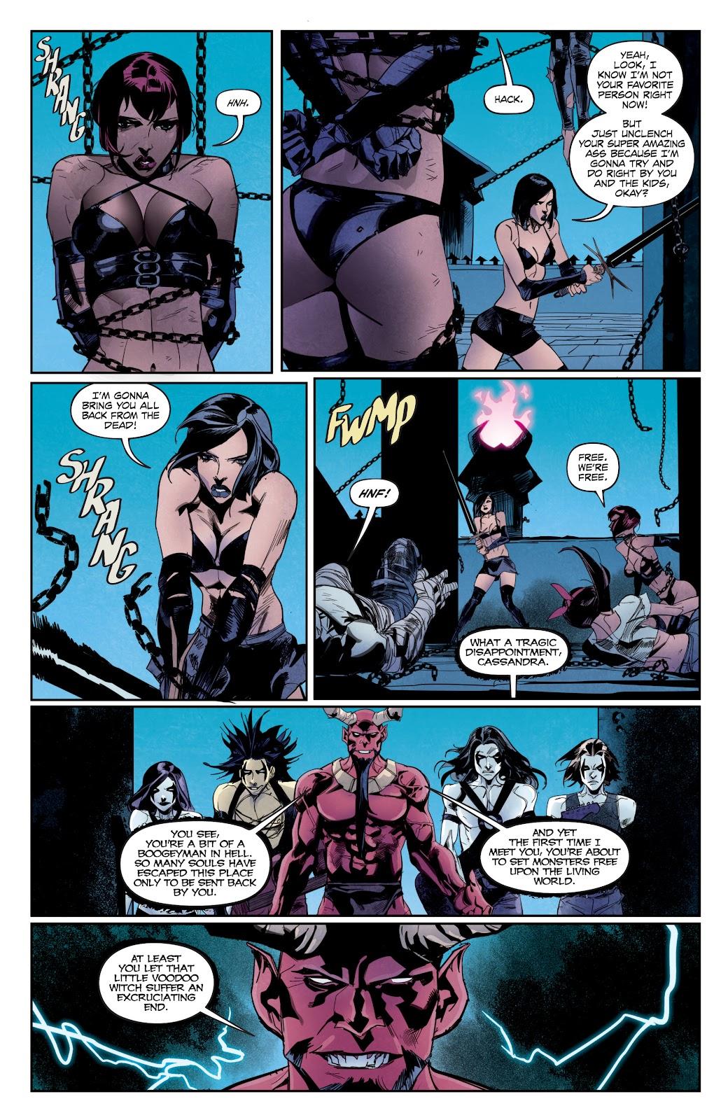 Read online Hack/Slash vs. Chaos comic -  Issue #5 - 12