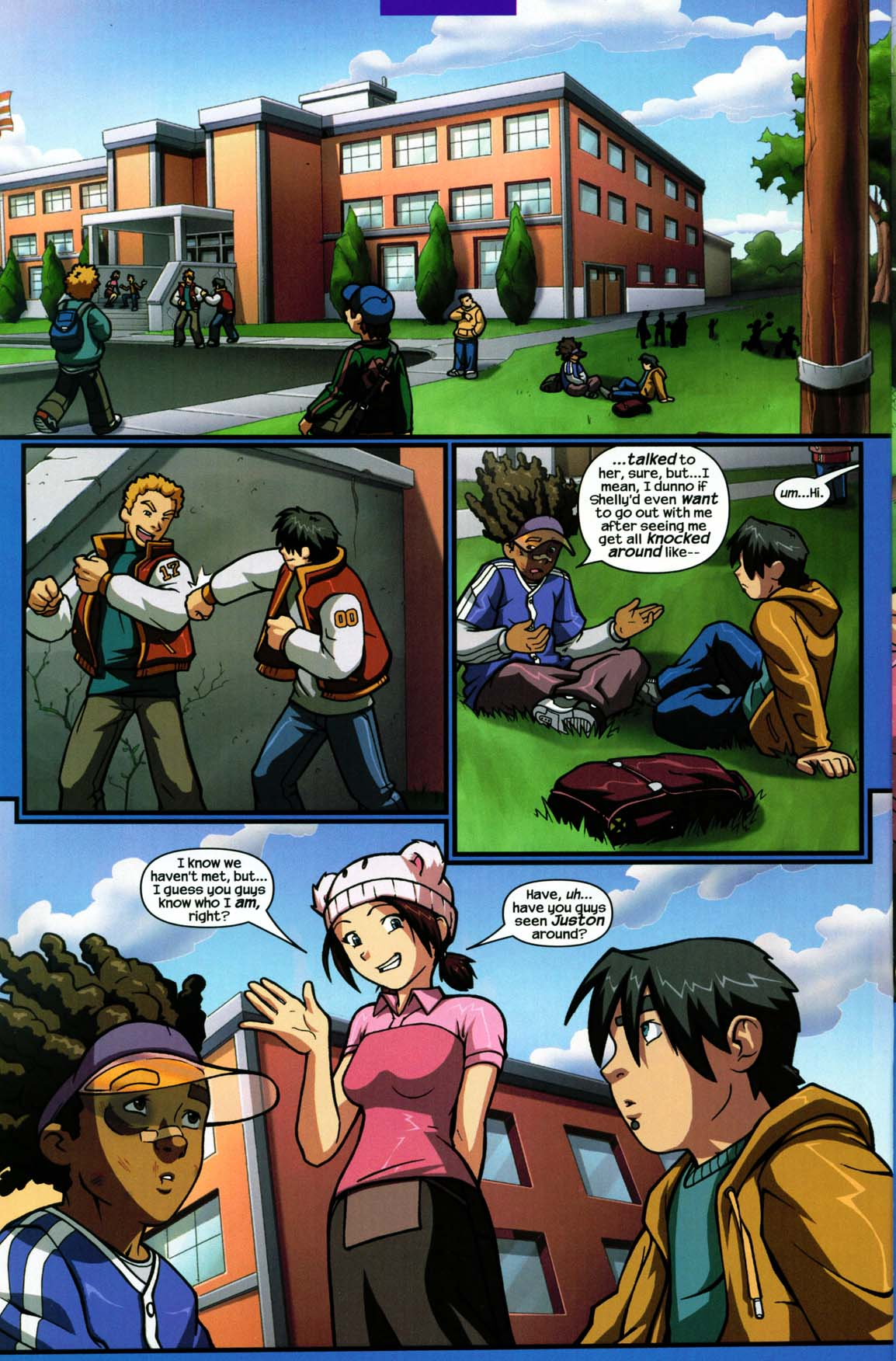 Read online Sentinel comic -  Issue #5 - 20