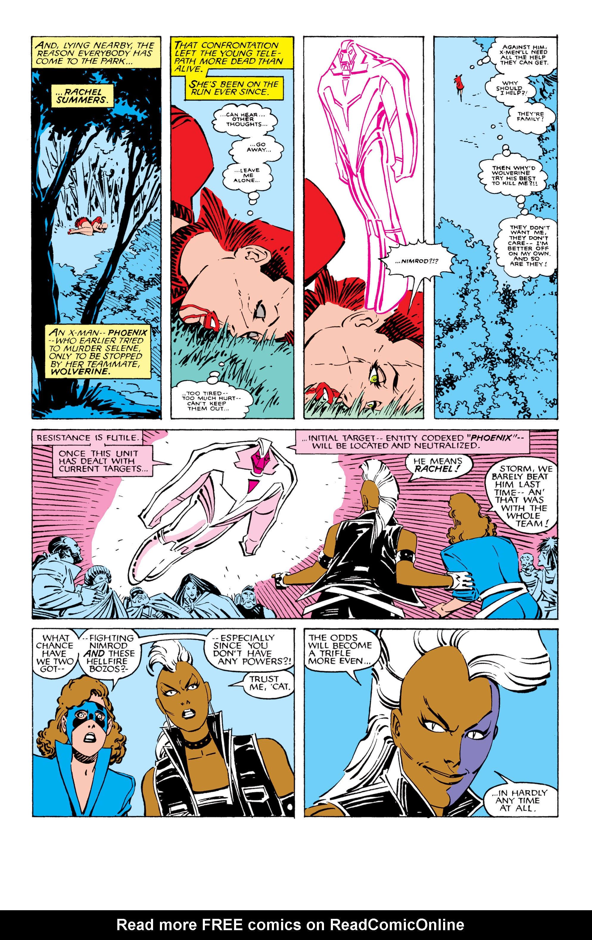 Read online Uncanny X-Men (1963) comic -  Issue #209 - 4