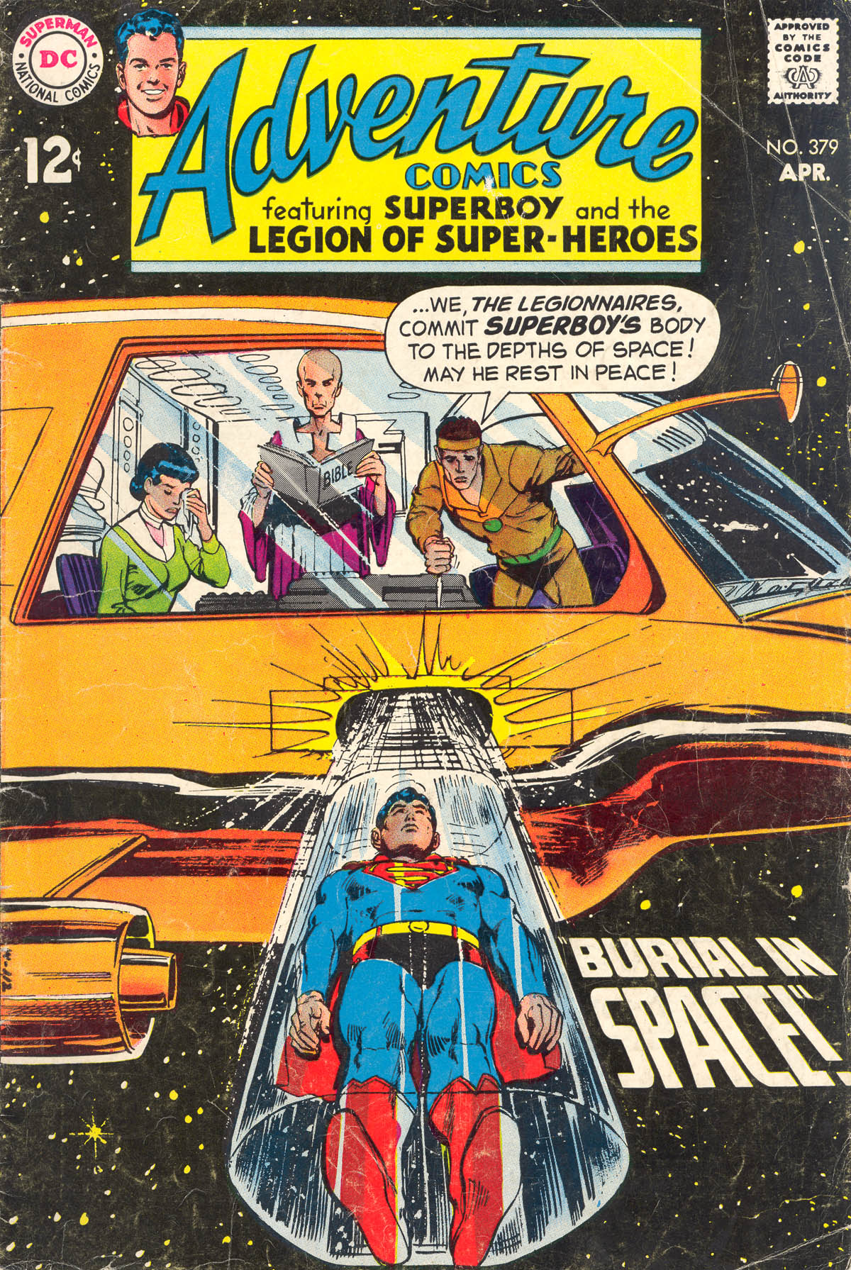 Read online Adventure Comics (1938) comic -  Issue #379 - 1