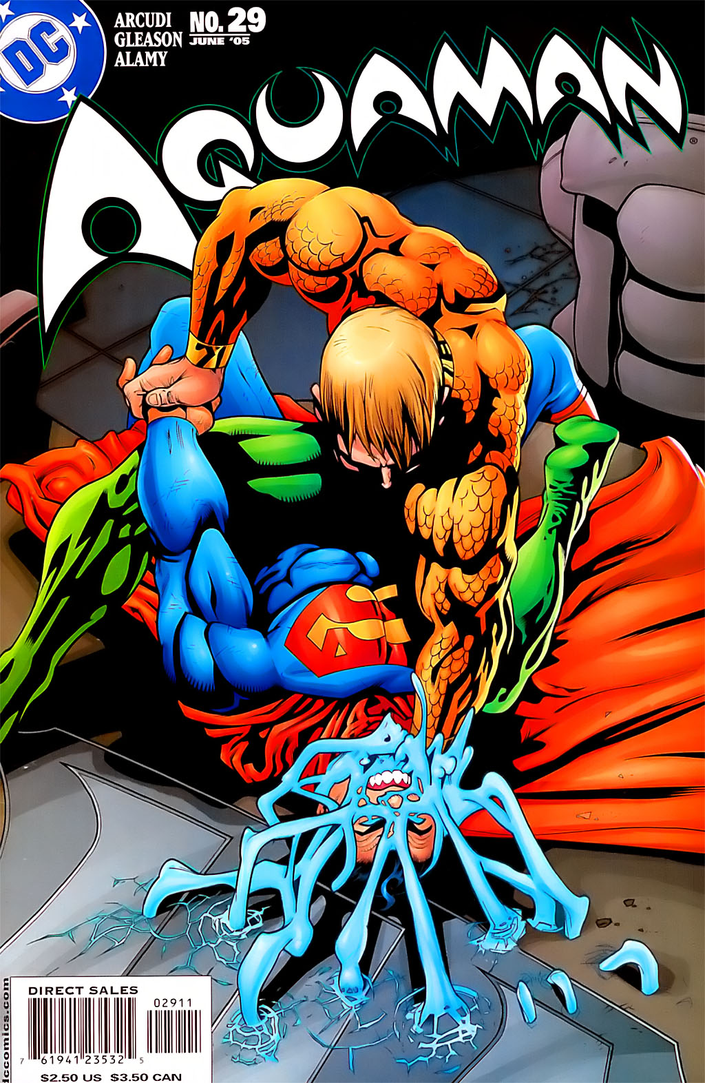 Read online Aquaman (2003) comic -  Issue #29 - 1