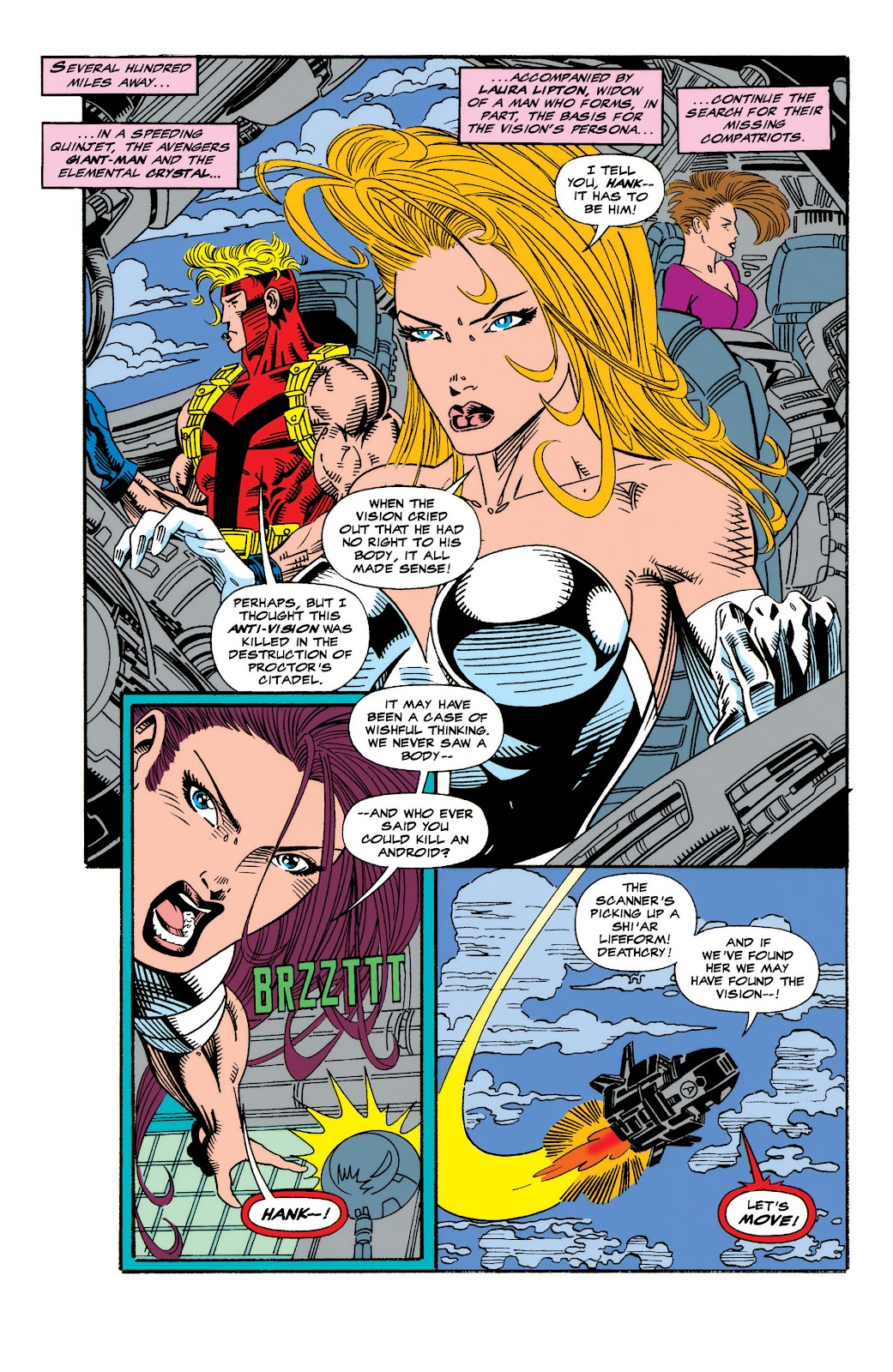 Read online The Vision comic -  Issue #4 - 7