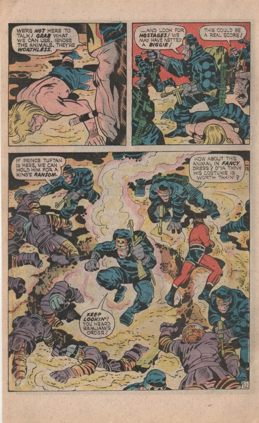 Kamandi, The Last Boy On Earth issue 32 - Page 14