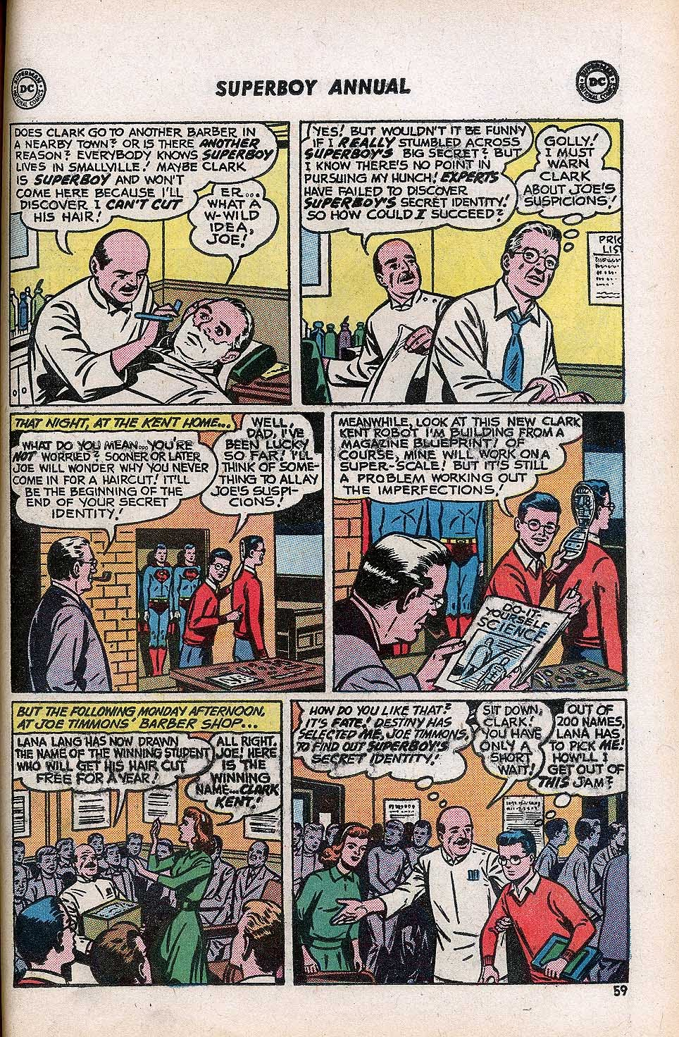 Superboy (1949) issue Annual 1 - Page 61
