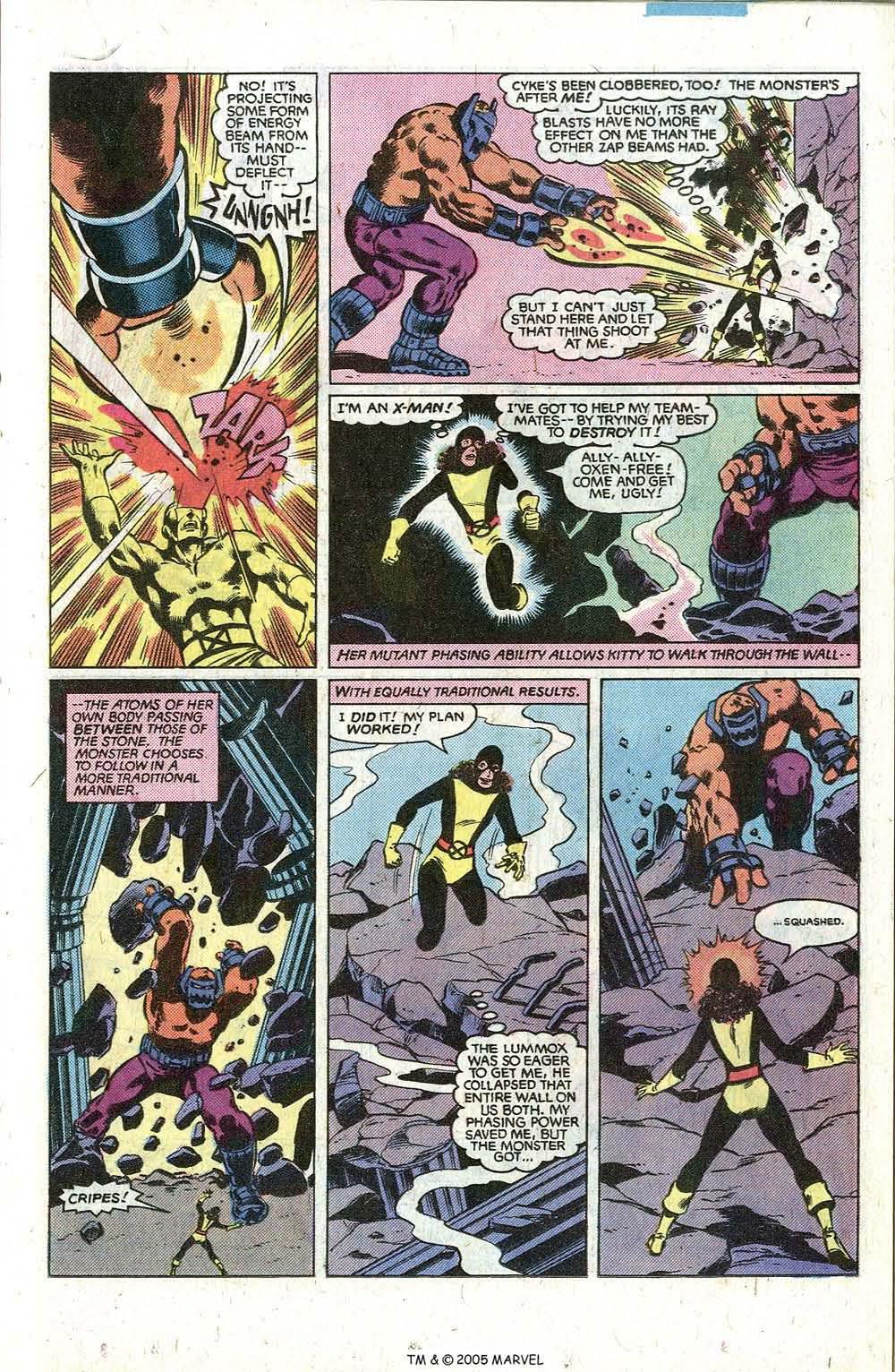 Read online Uncanny X-Men (1963) comic -  Issue # _Annual 5 - 35