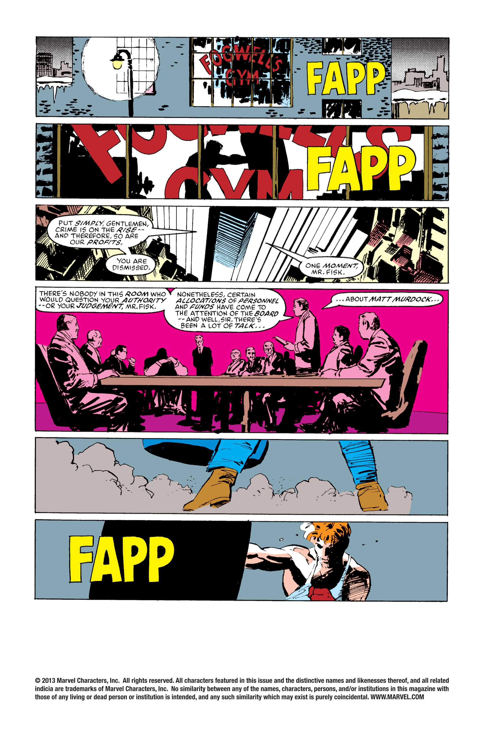 Read online Daredevil: Born Again comic -  Issue # Full - 123