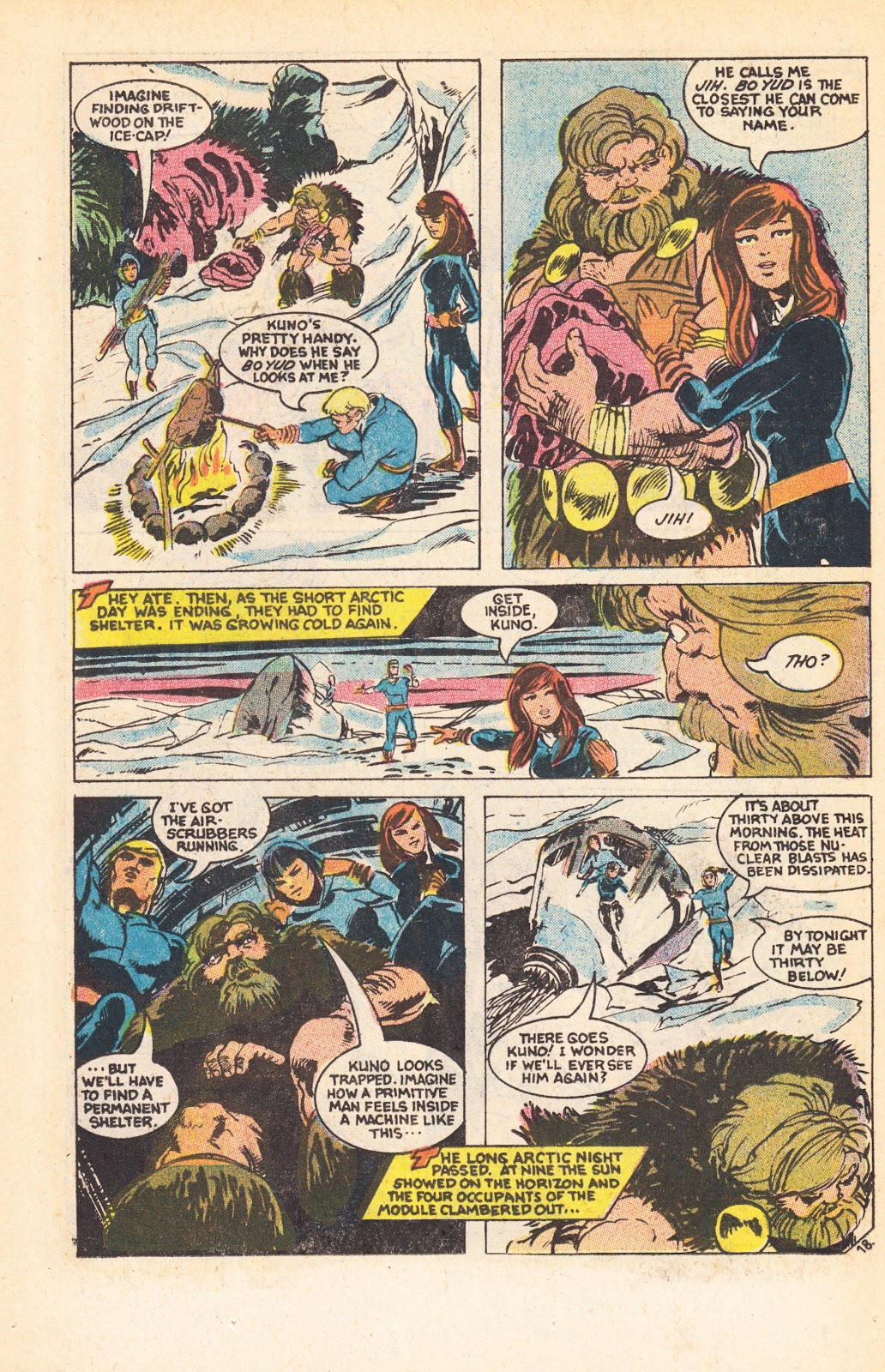 Read online Doomsday   1 (1975) comic -  Issue #7 - 26