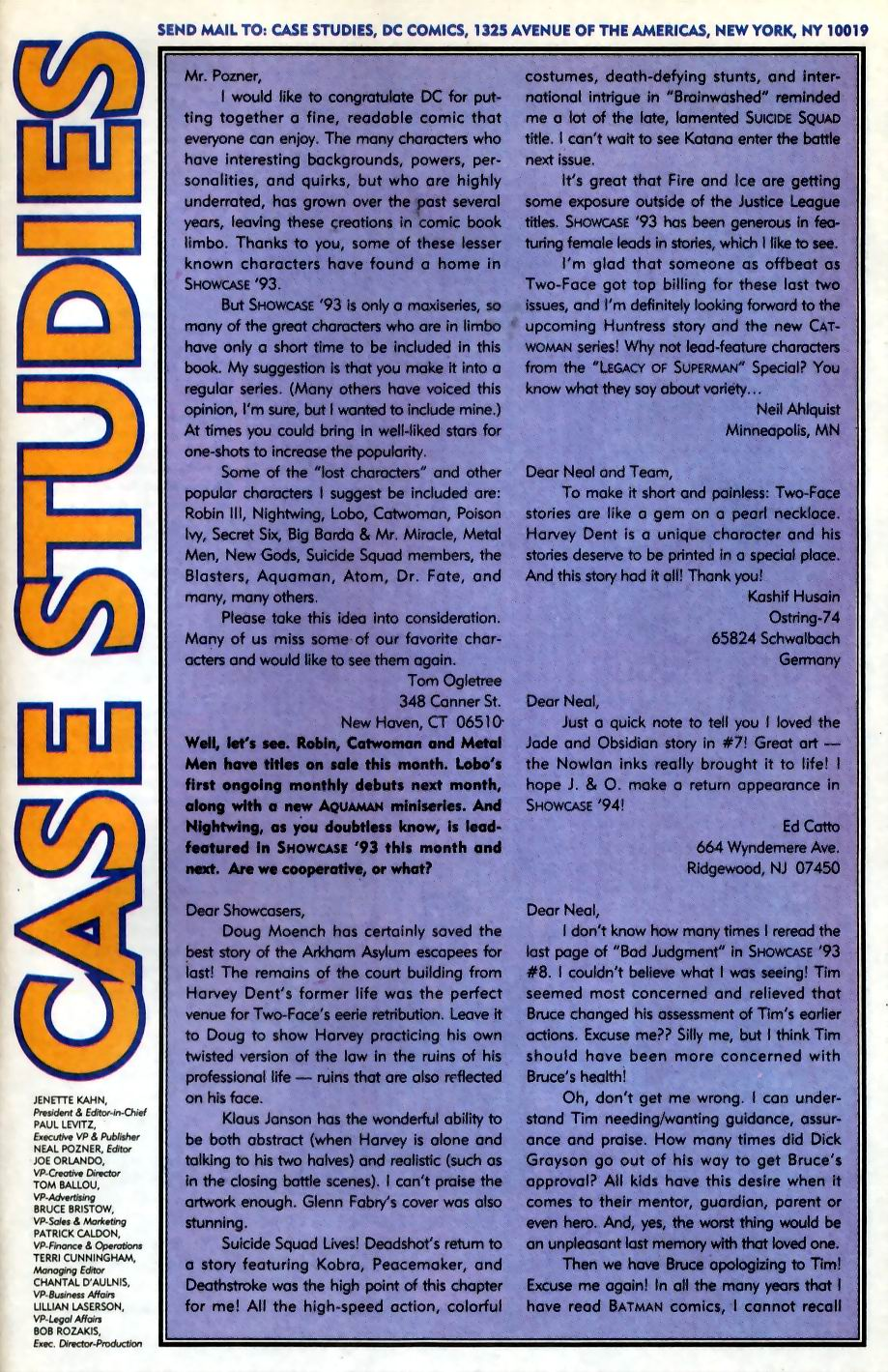 Read online Showcase '93 comic -  Issue #11 - 40