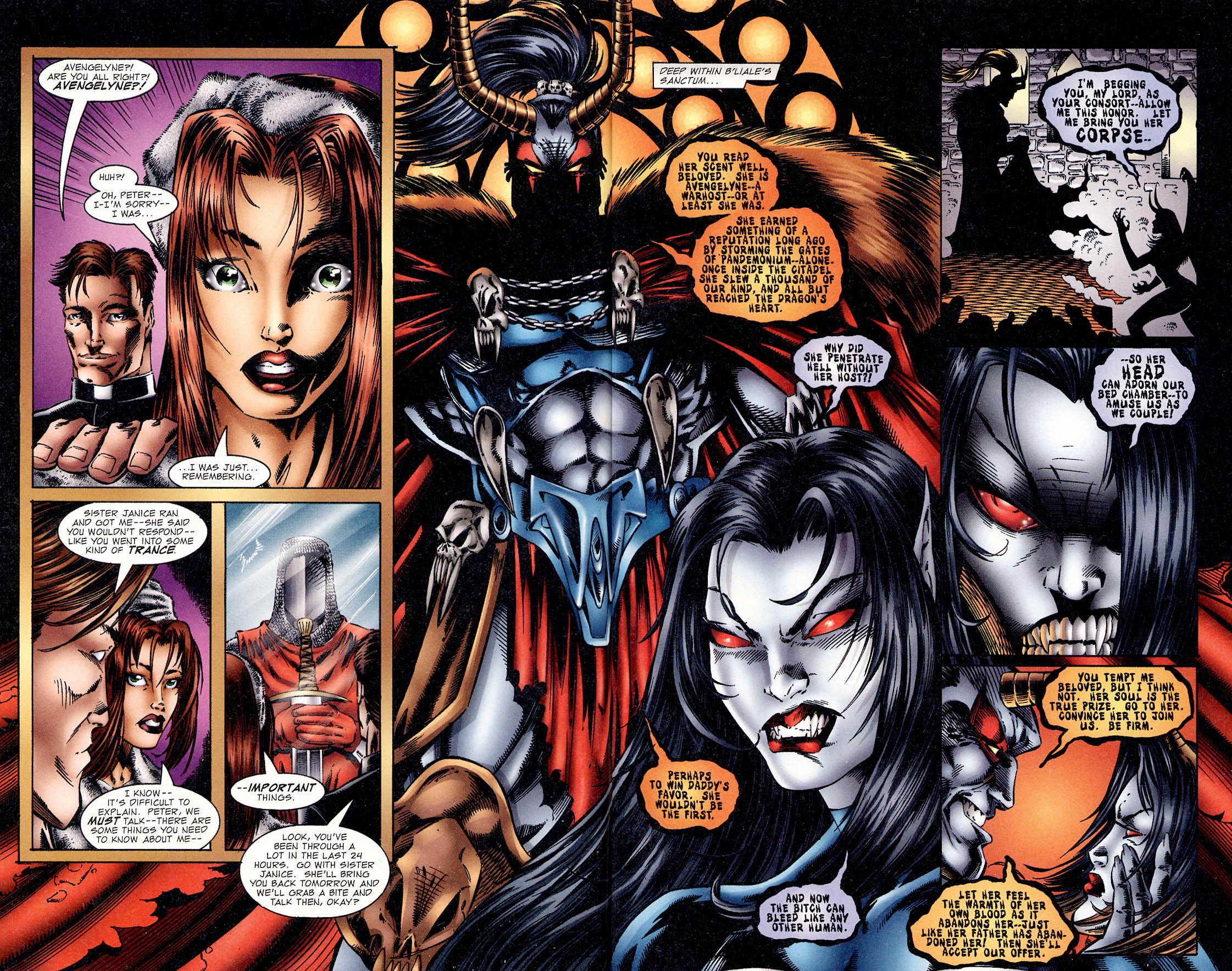 Read online Avengelyne (1995) comic -  Issue #2 - 8