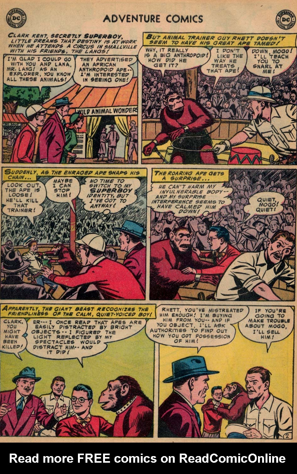 Read online Adventure Comics (1938) comic -  Issue #200 - 4