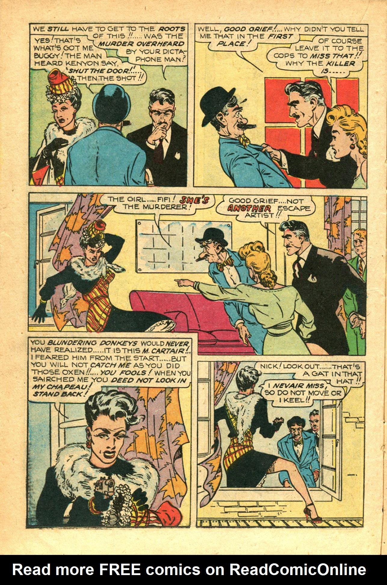 Read online Shadow Comics comic -  Issue #78 - 22