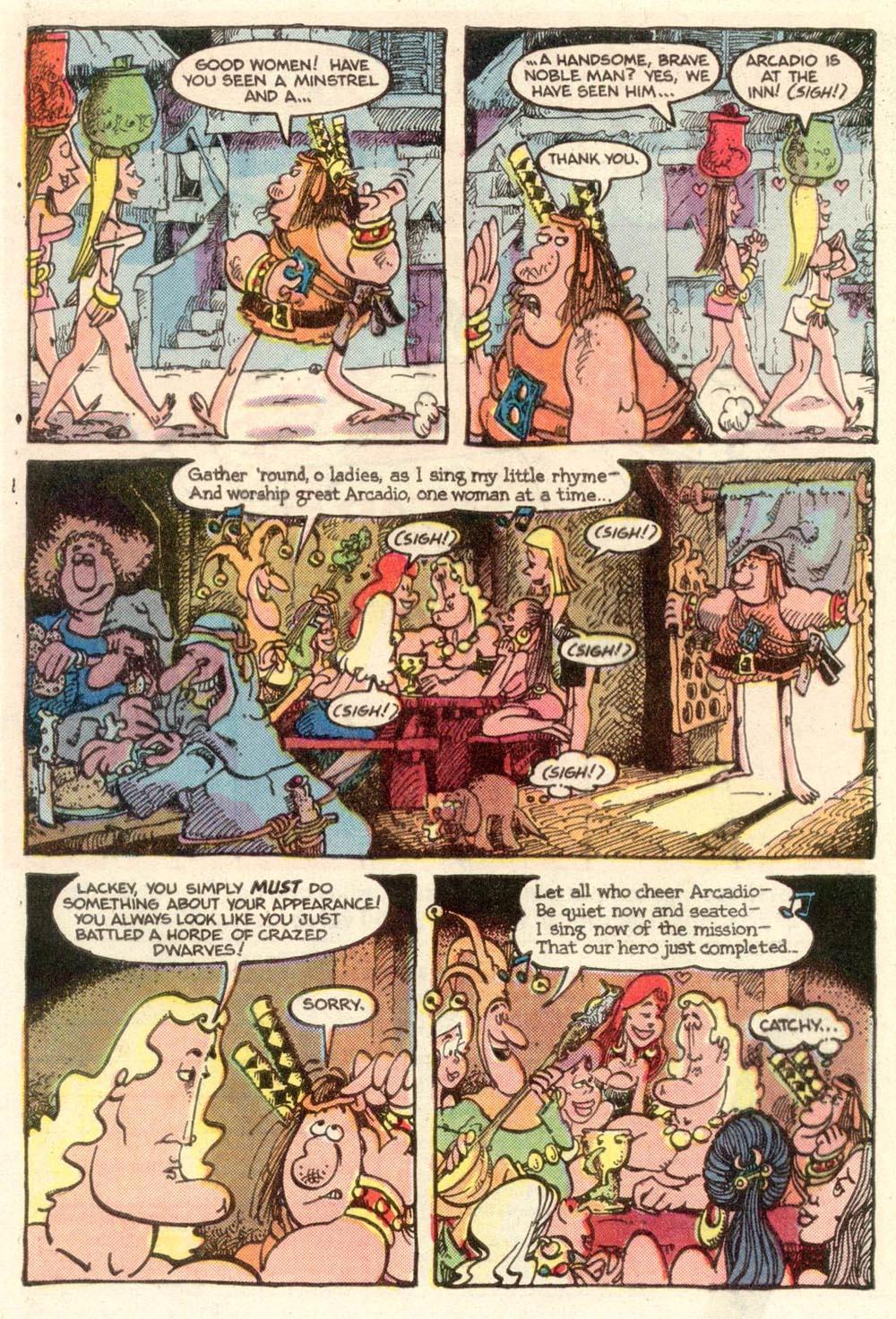 Read online Sergio Aragonés Groo the Wanderer comic -  Issue #11 - 5