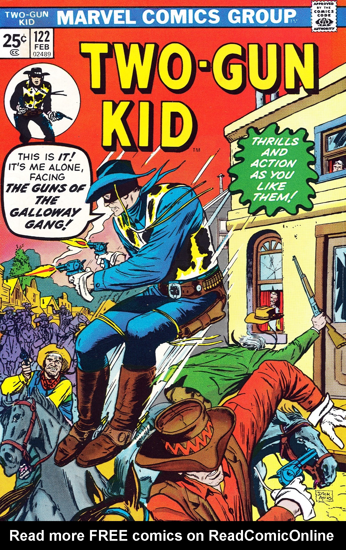 Read online Two-Gun Kid comic -  Issue #122 - 1