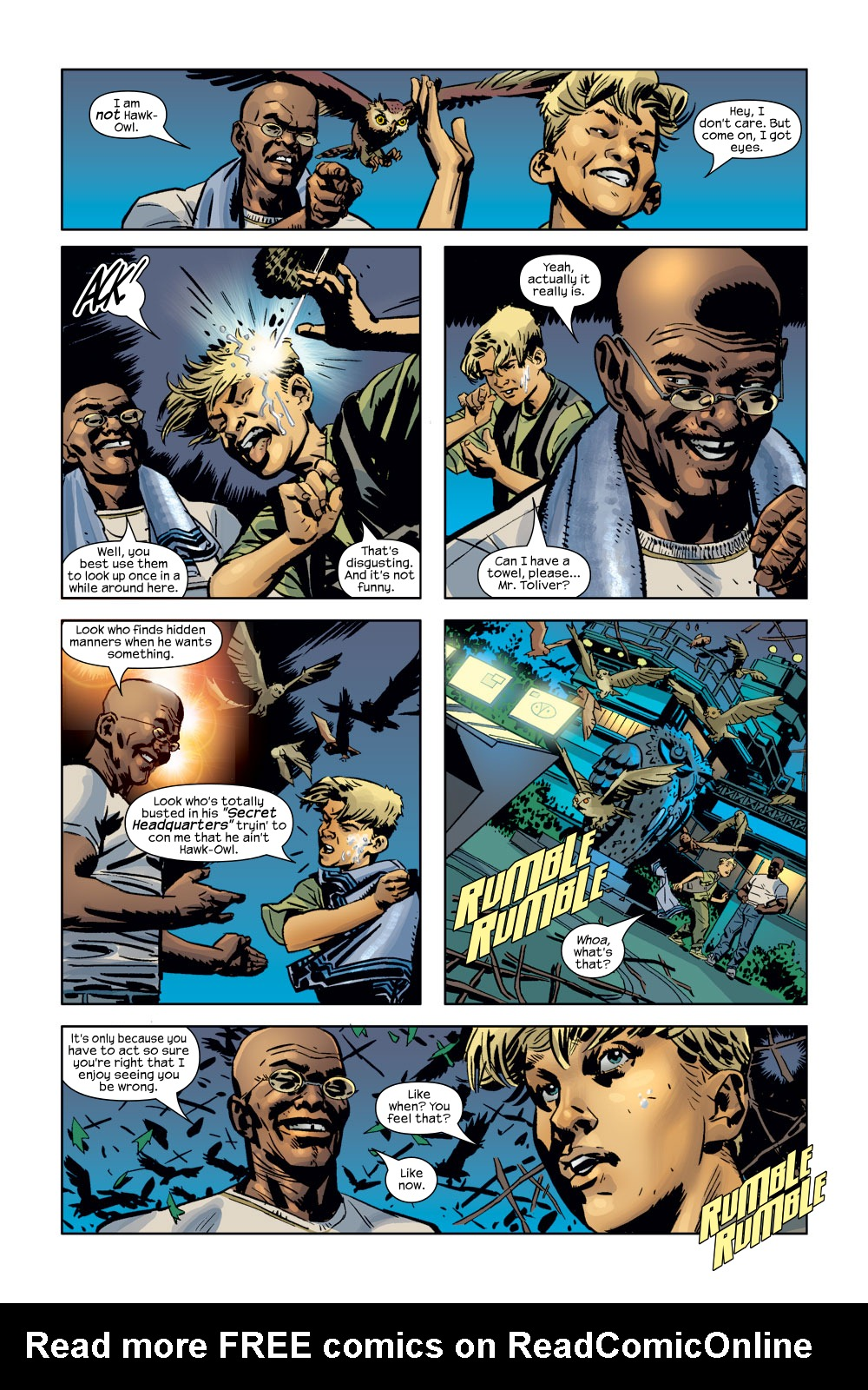 Read online Ultimate Adventures comic -  Issue #3 - 6