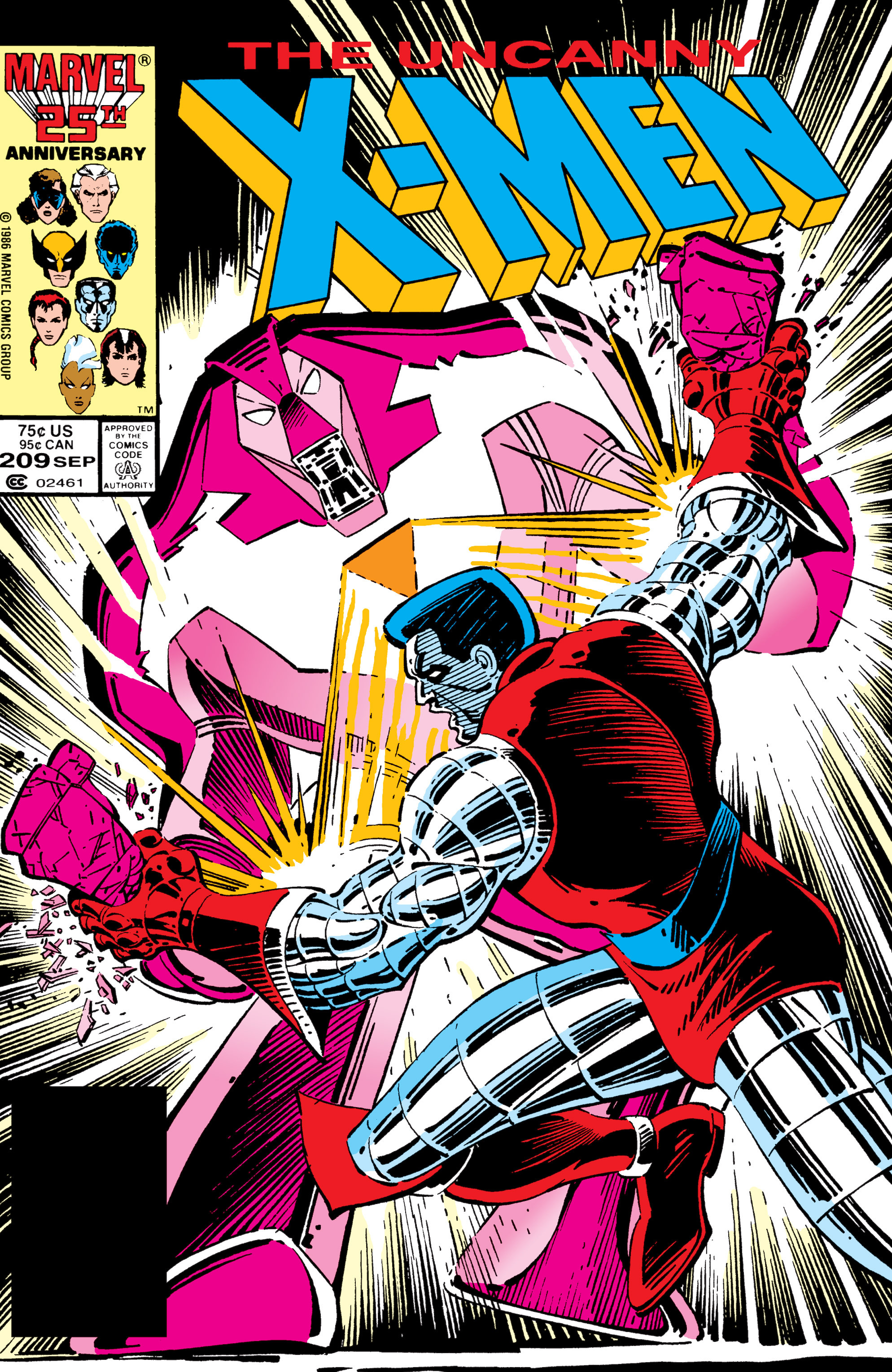 Read online Uncanny X-Men (1963) comic -  Issue #209 - 1