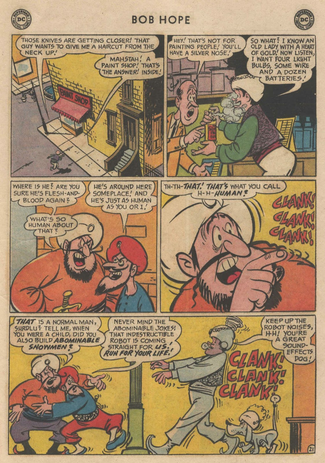 The Adventures of Bob Hope issue 90 - Page 29