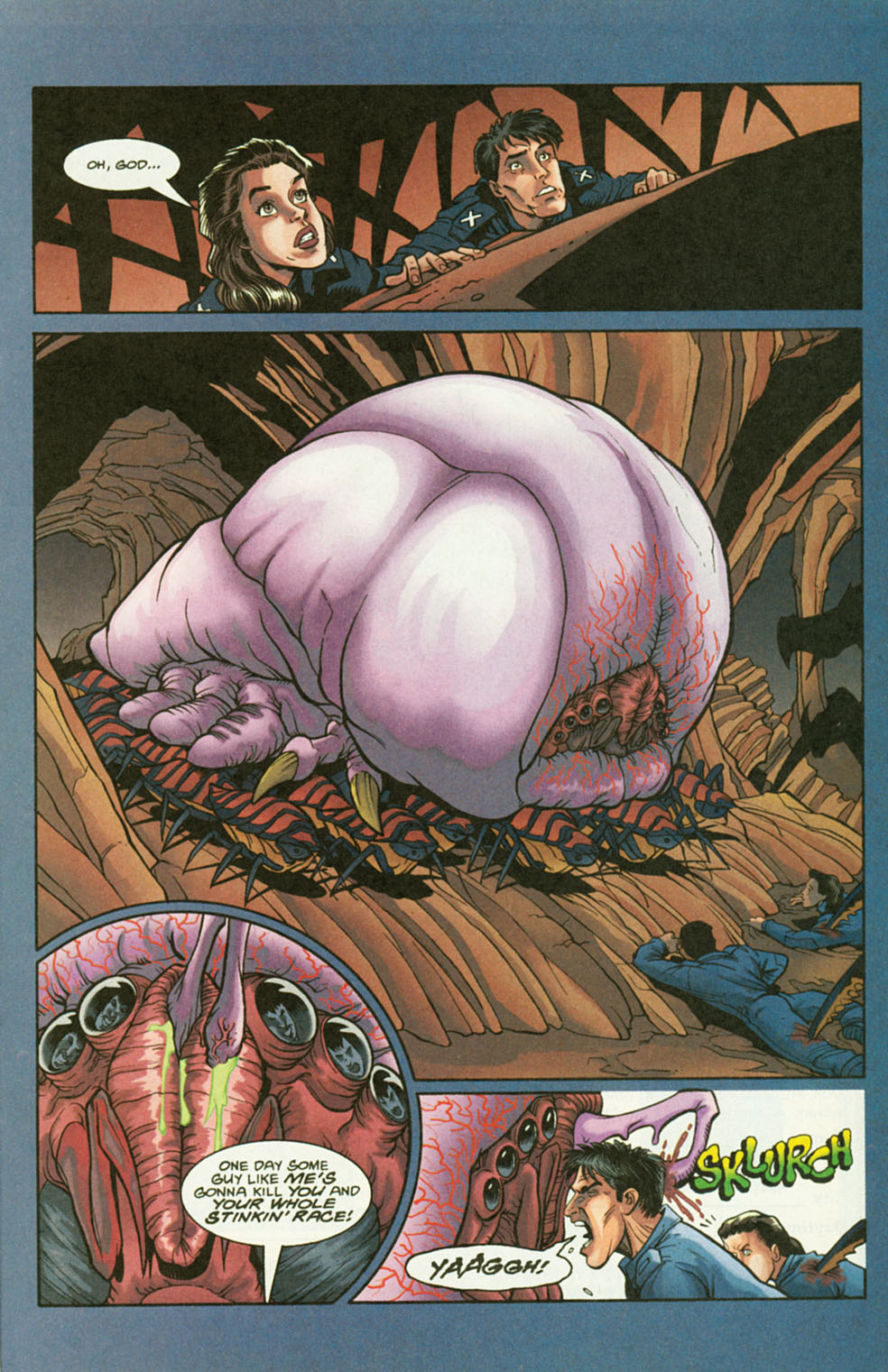 Read online Starship Troopers comic -  Issue #2 - 21