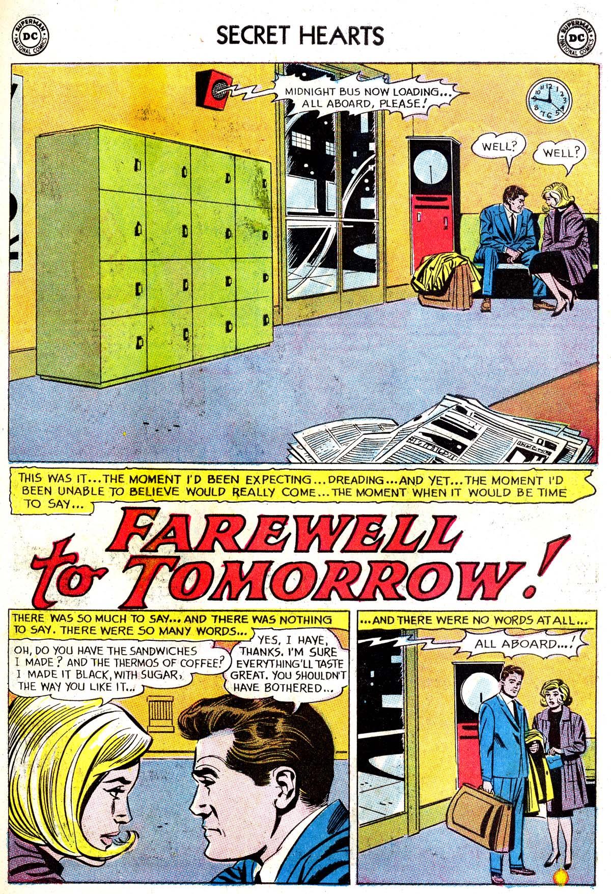 Read online Secret Hearts comic -  Issue #87 - 11