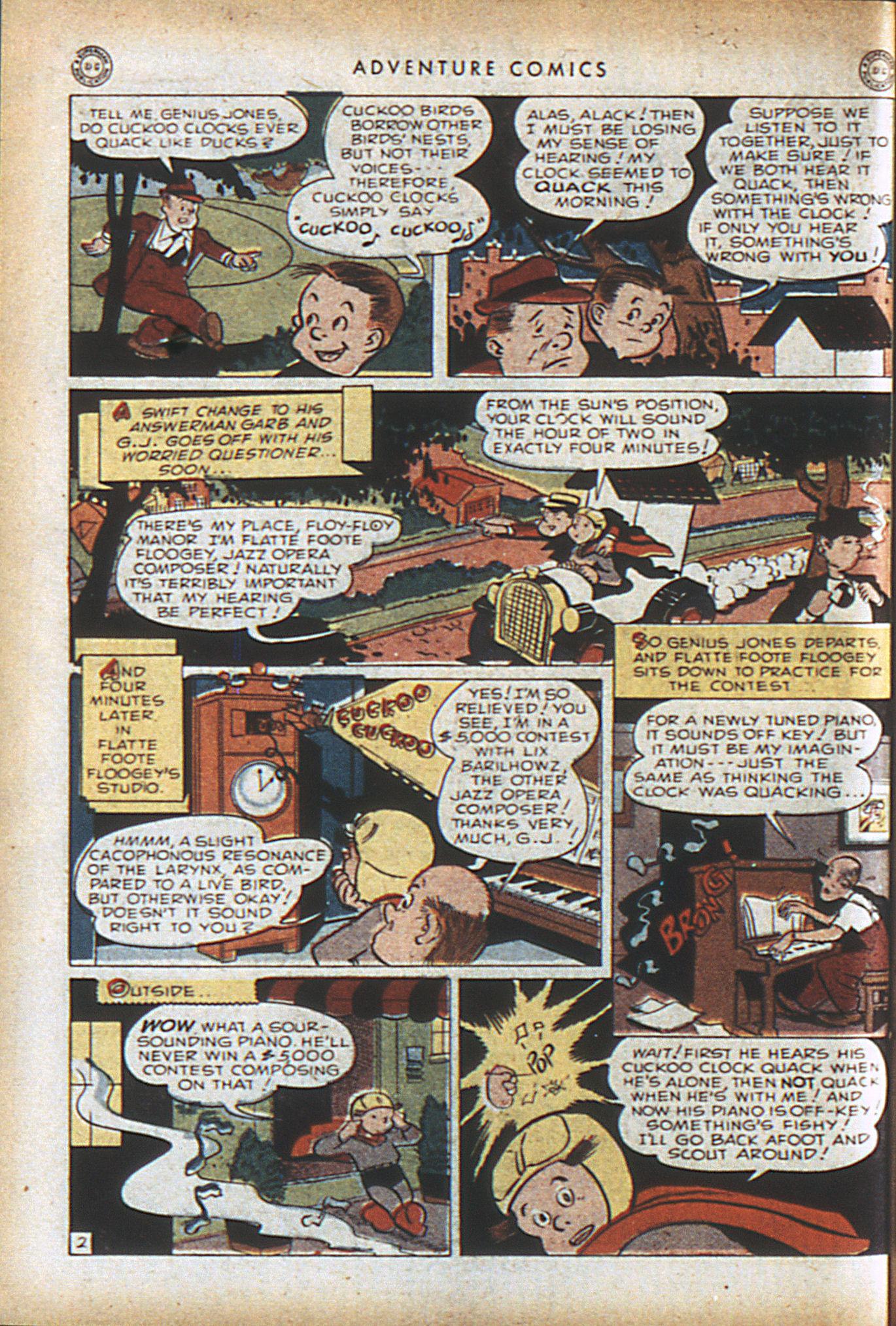 Read online Adventure Comics (1938) comic -  Issue #96 - 27