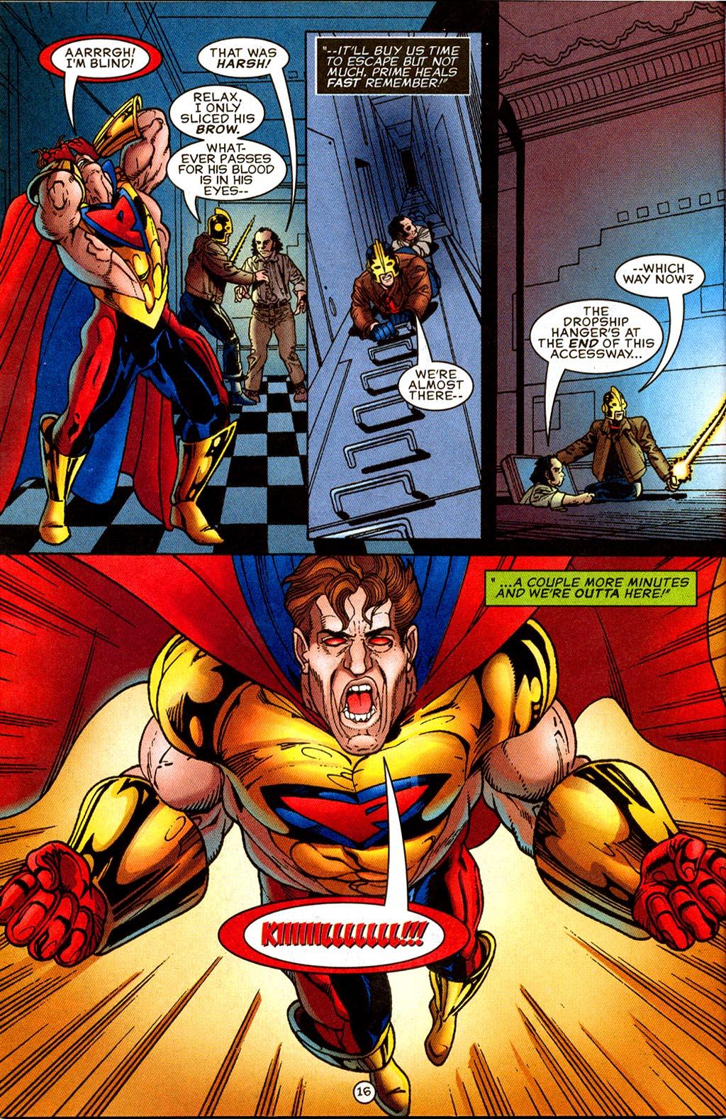 Read online UltraForce (1995) comic -  Issue #8 - 17