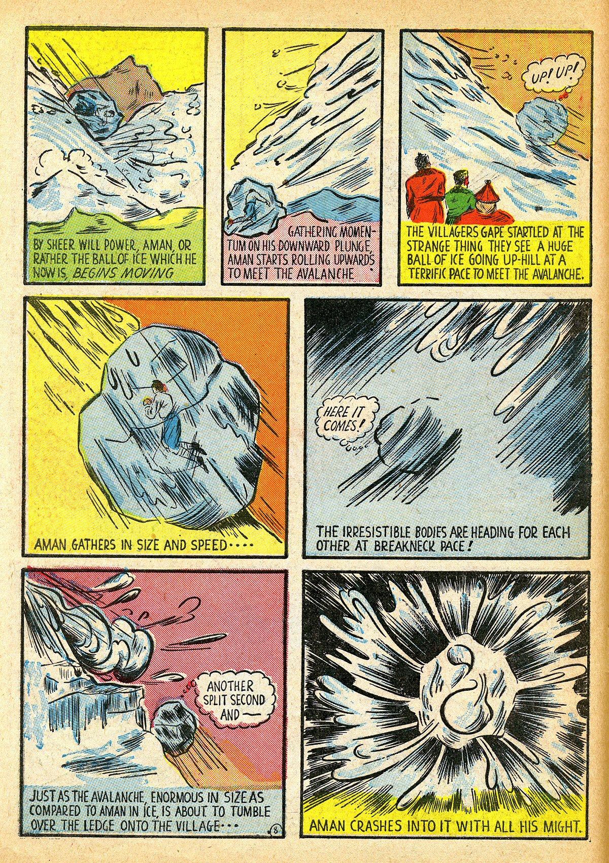Read online Amazing Man Comics comic -  Issue #10 - 11