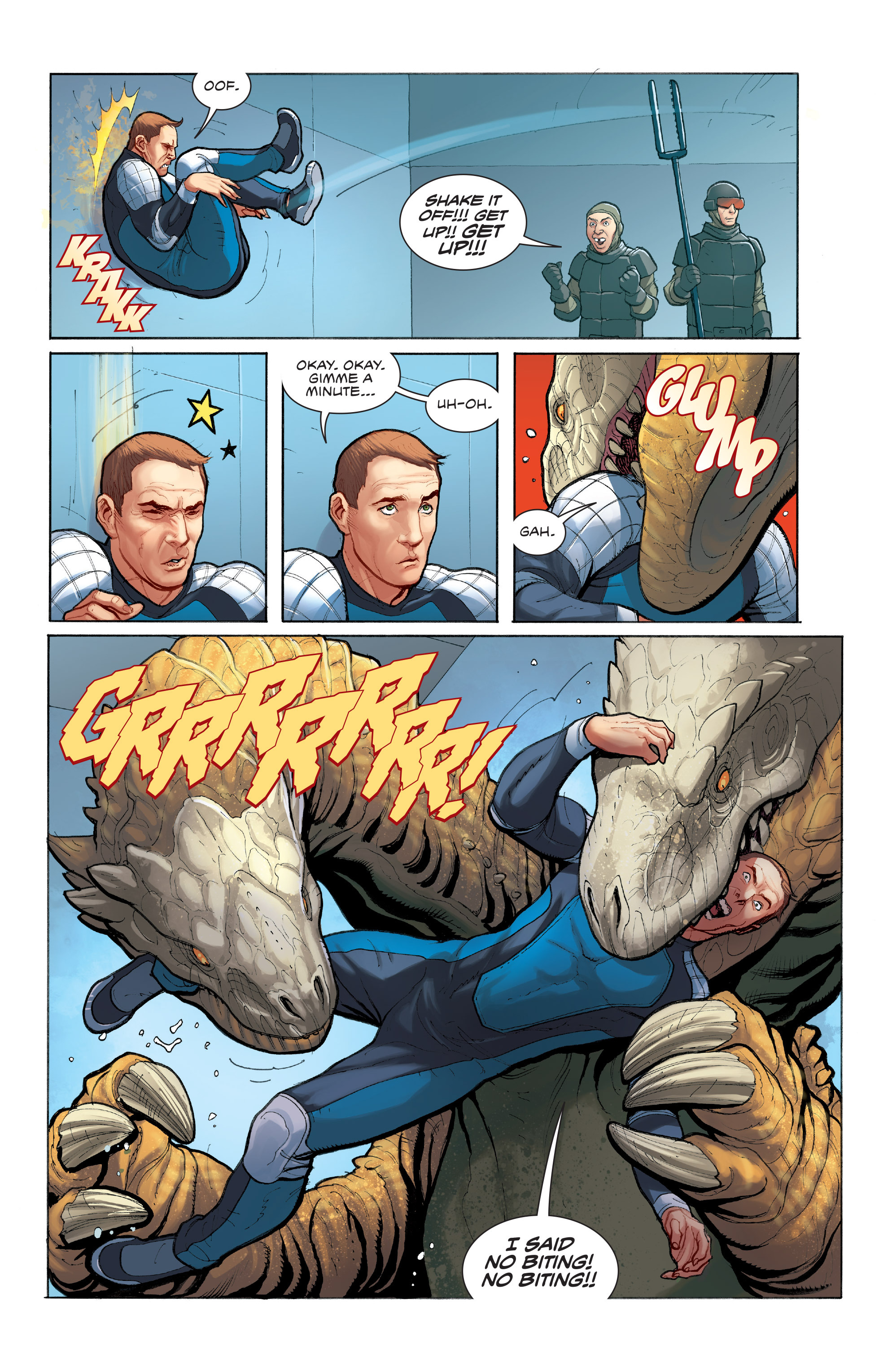 Read online Skybourne comic -  Issue #3 - 14