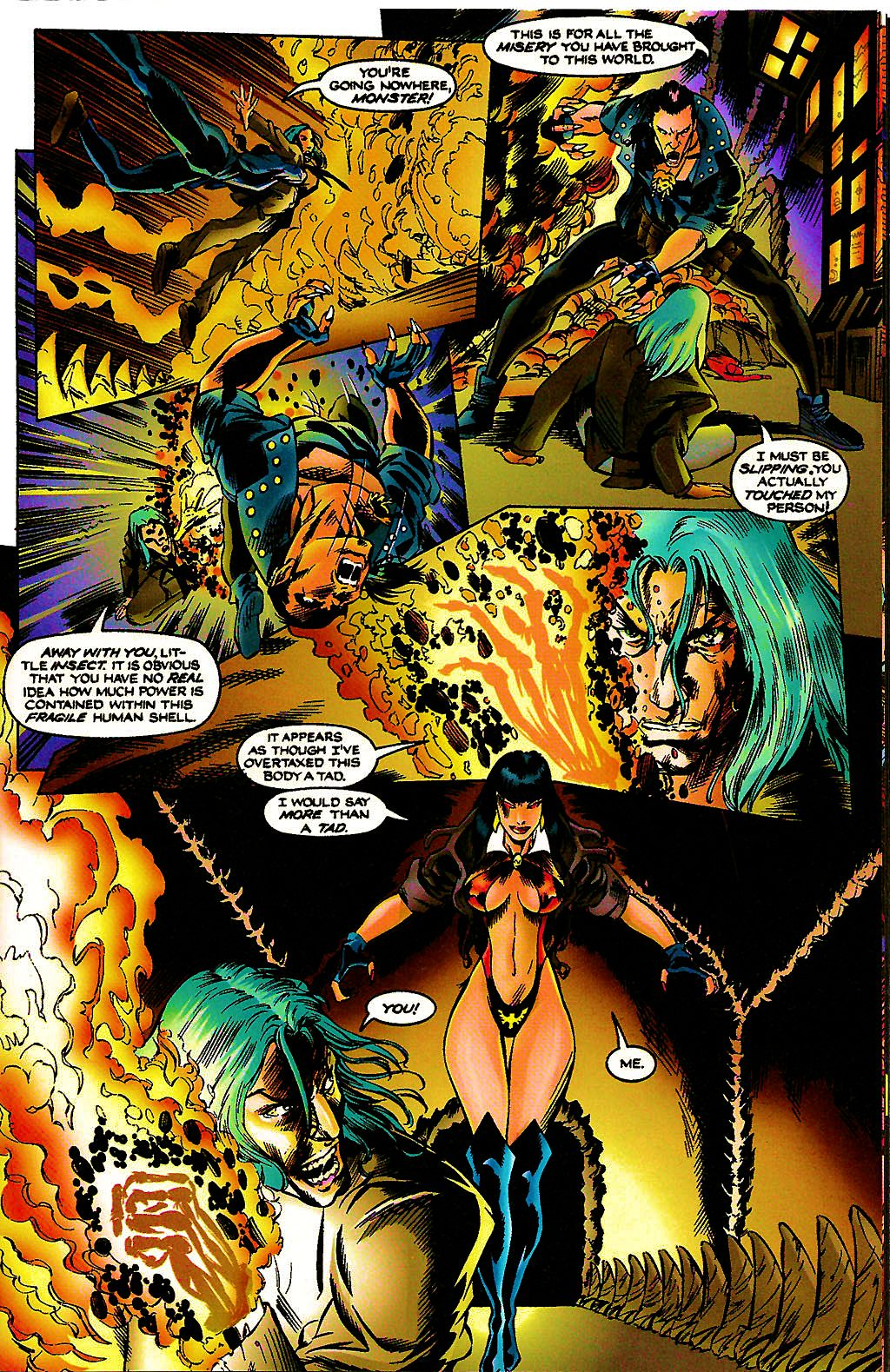 Read online Chains of Chaos comic -  Issue #3 - 25