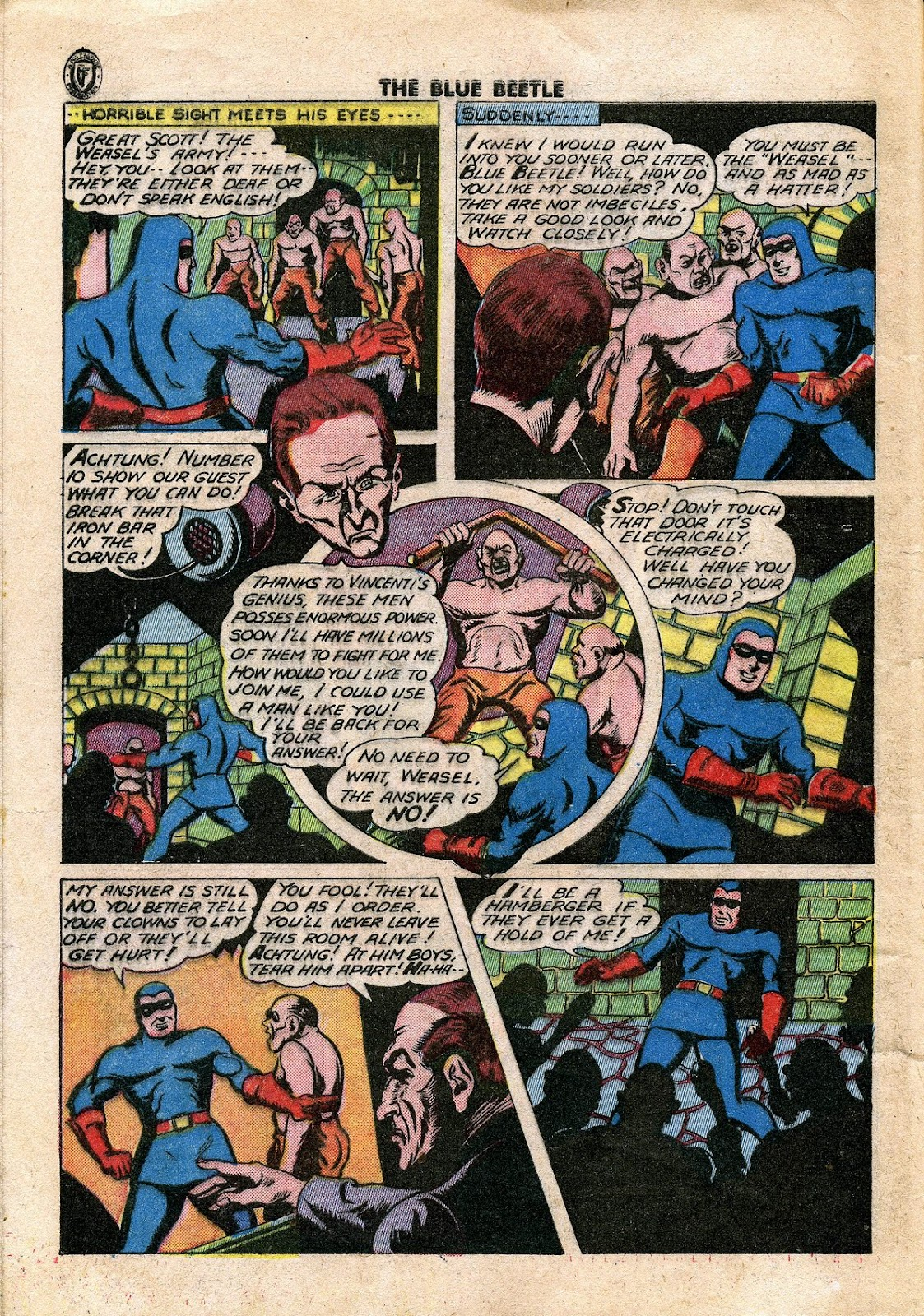 The Blue Beetle issue 34 - Page 39