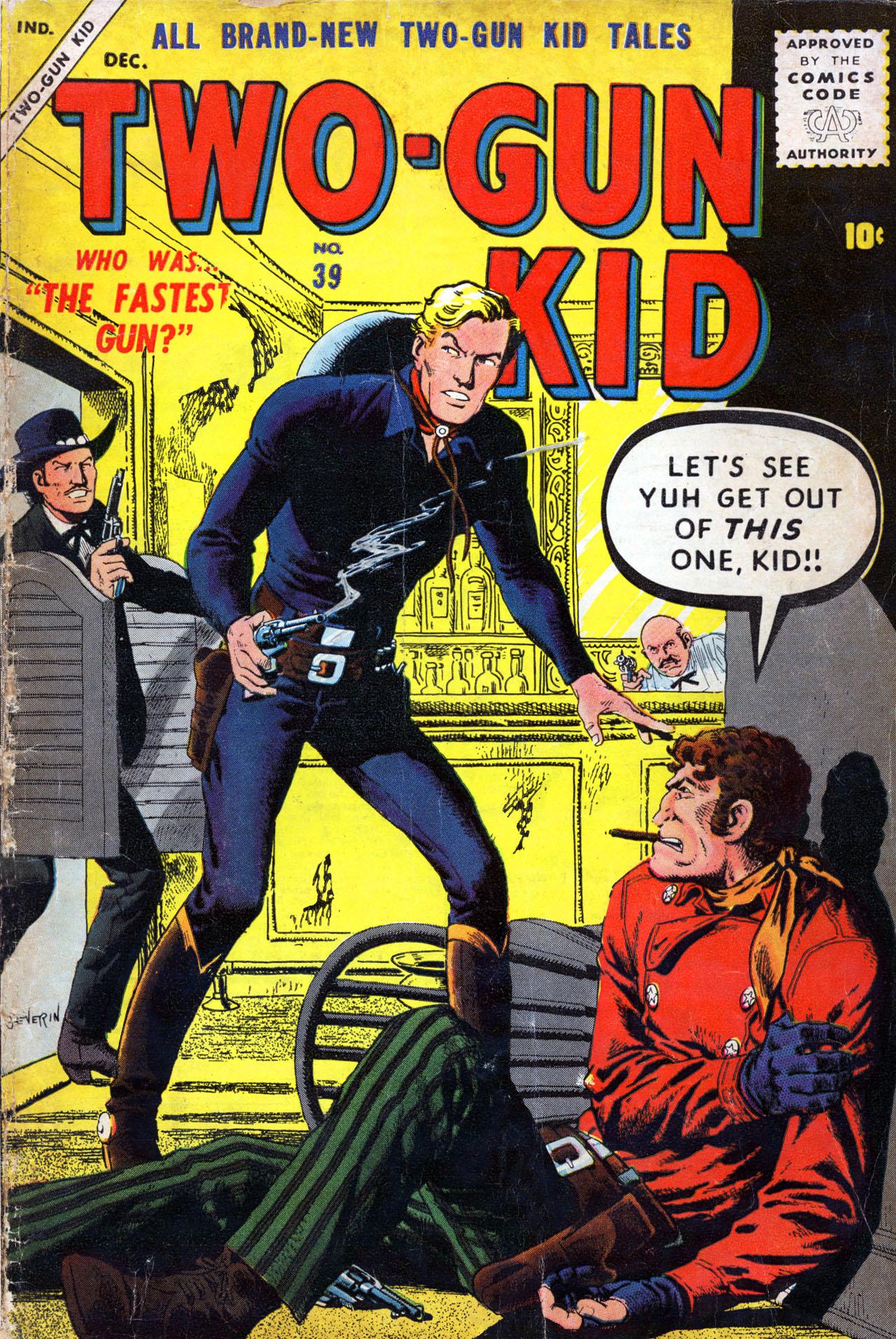Read online Two-Gun Kid comic -  Issue #39 - 1