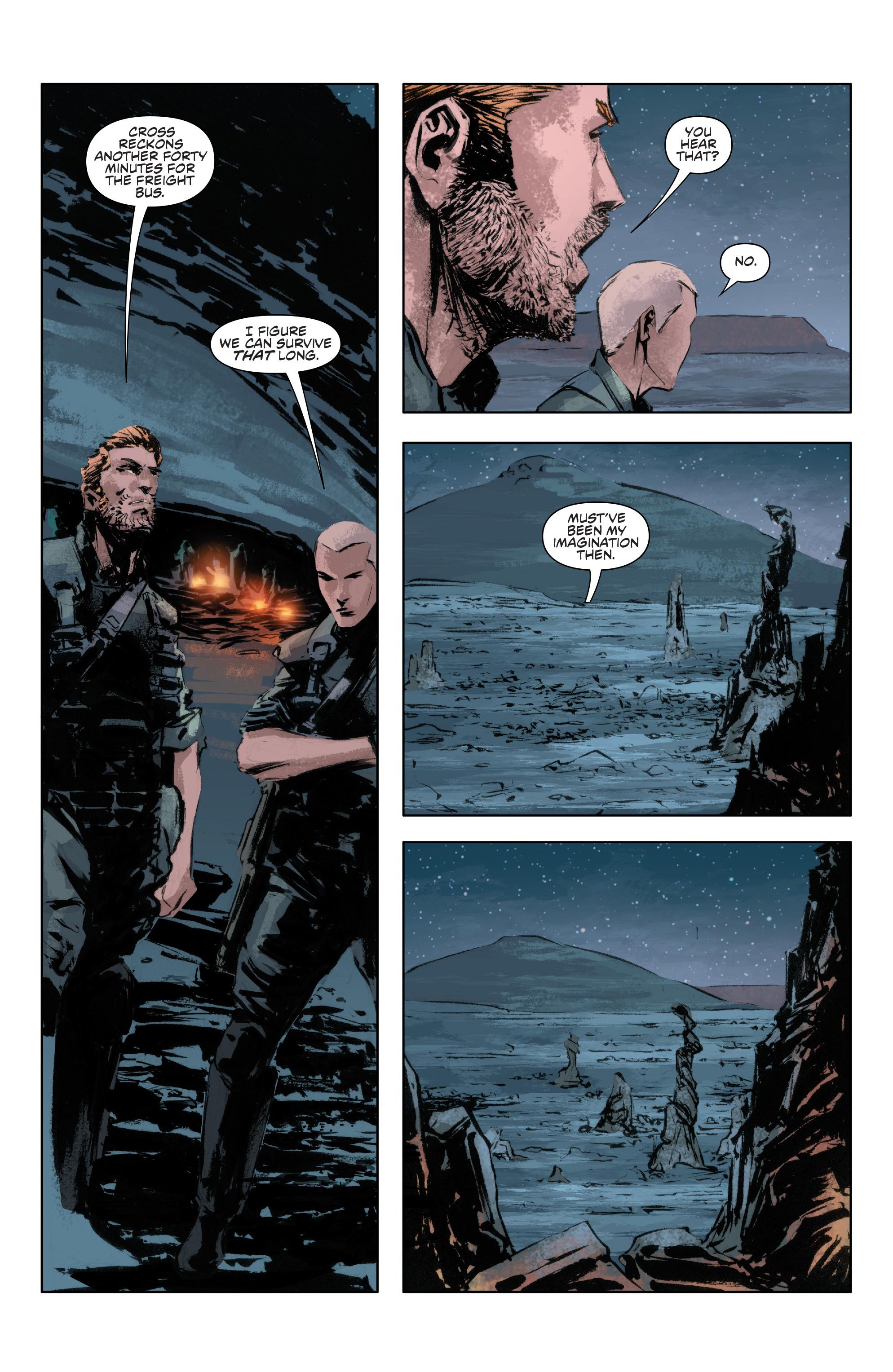 Read online Alien Vs. Predator: Life and Death comic -  Issue #4 - 22