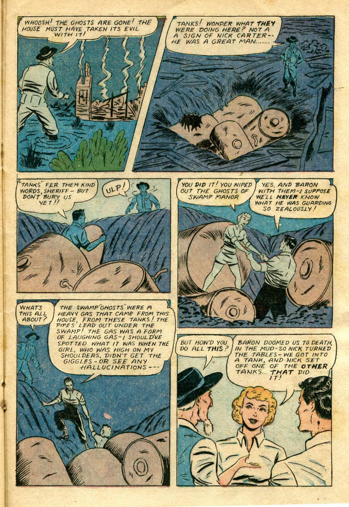 Read online Shadow Comics comic -  Issue #65 - 35
