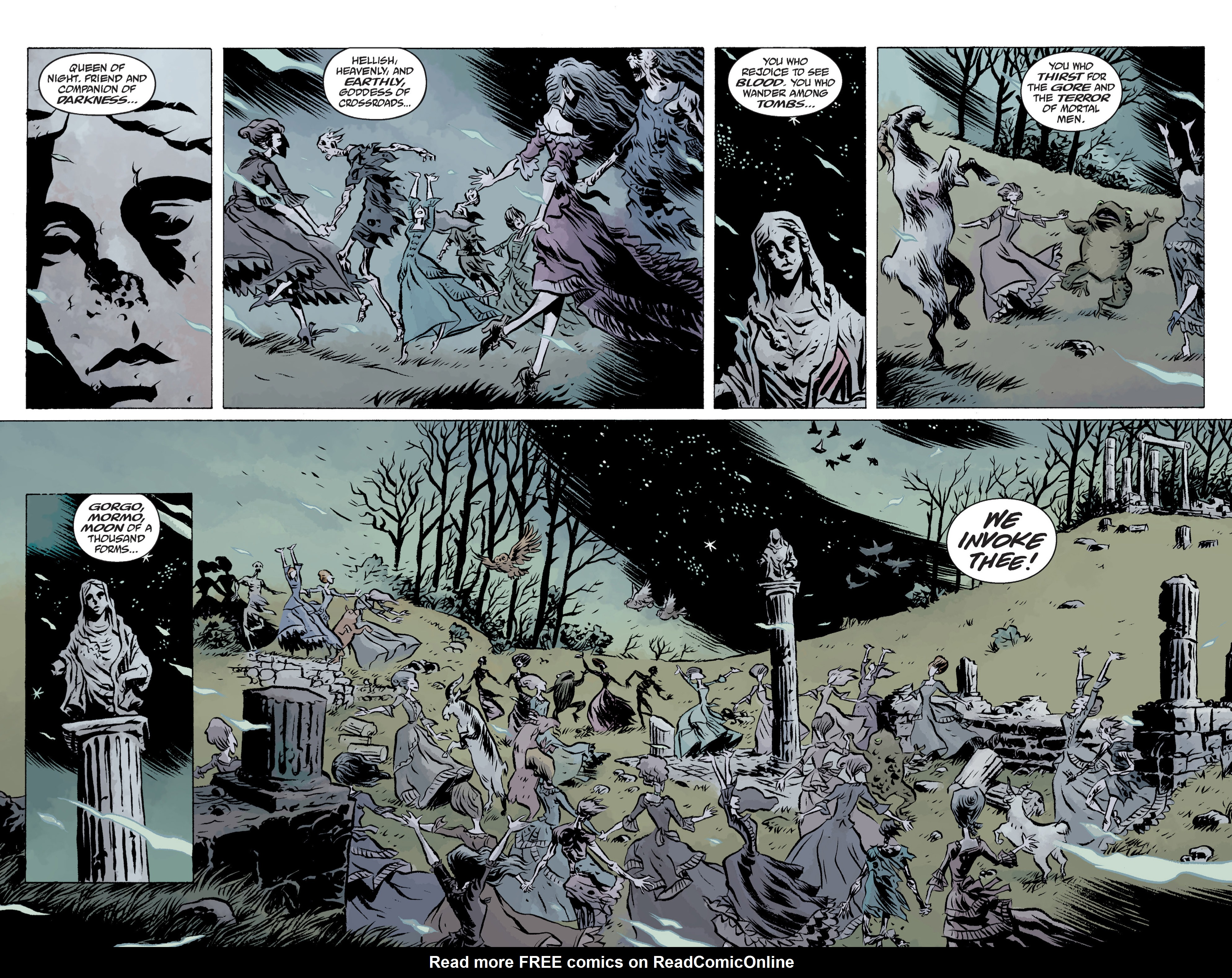 Read online B.P.R.D. (2003) comic -  Issue # TPB 13 - 48