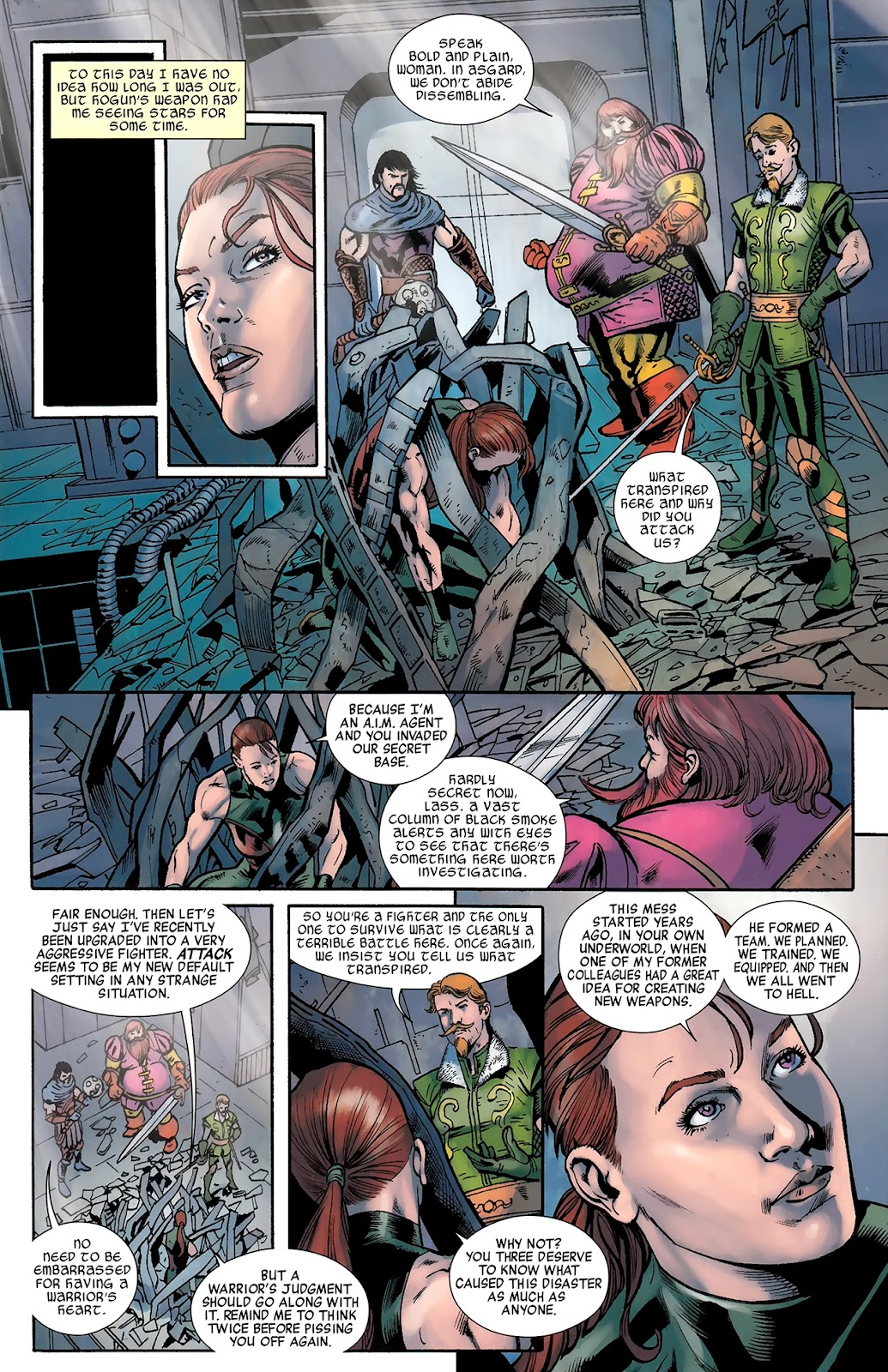 Warriors Three Issue #3 #3 - English 10
