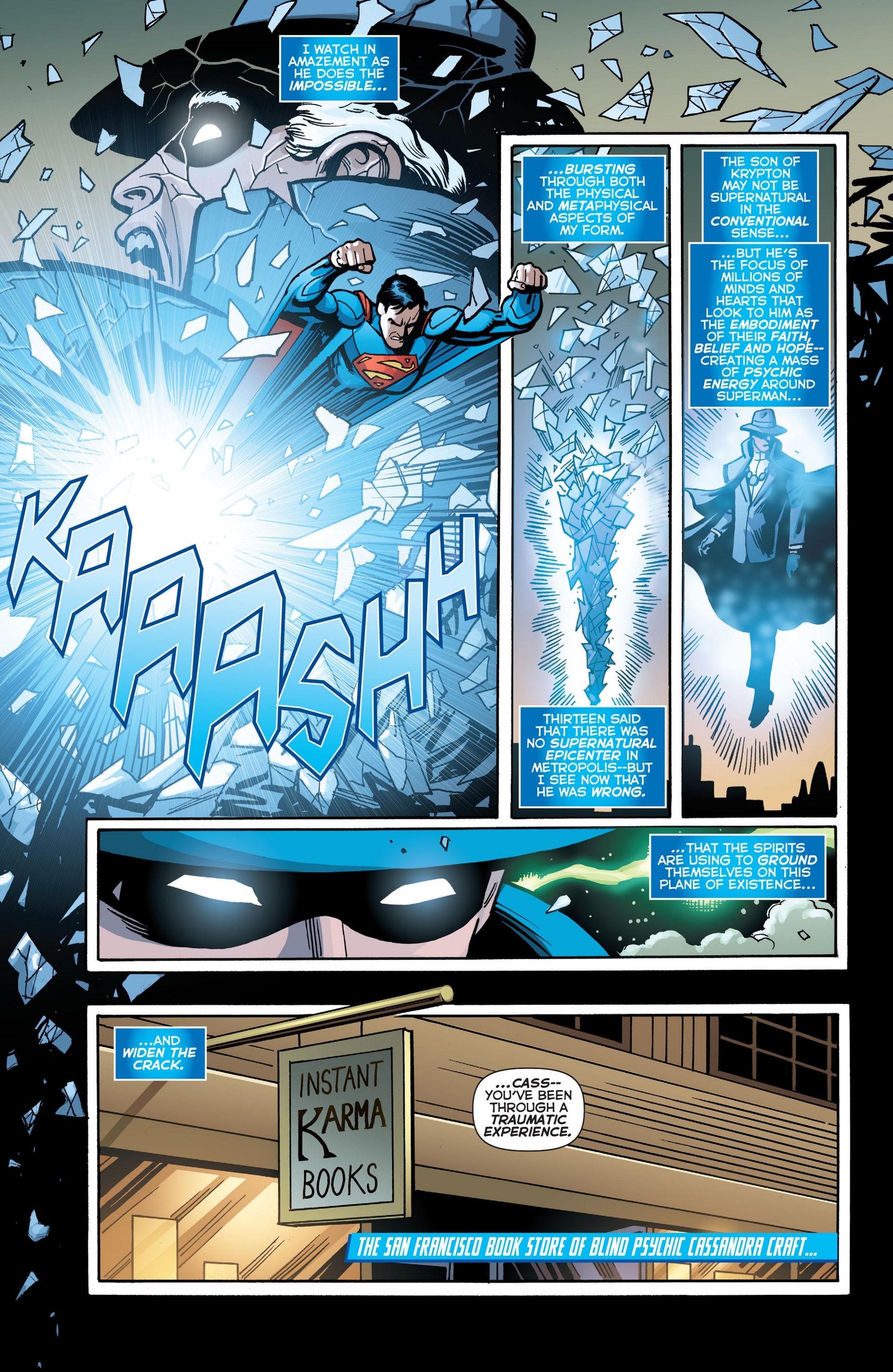 Read online Trinity of Sin: The Phantom Stranger comic -  Issue #18 - 11