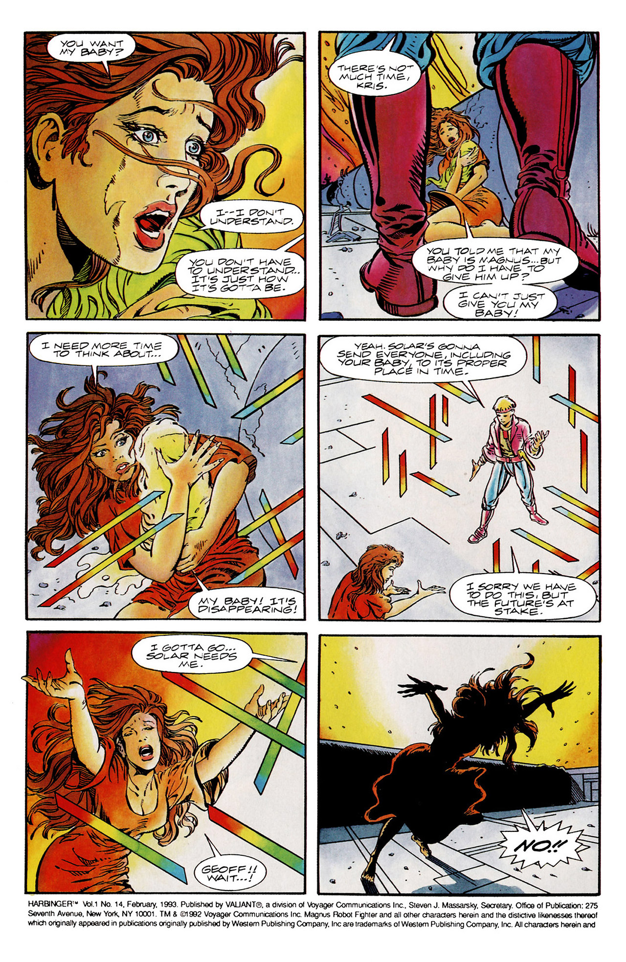 Read online Harbinger (1992) comic -  Issue #14 - 3