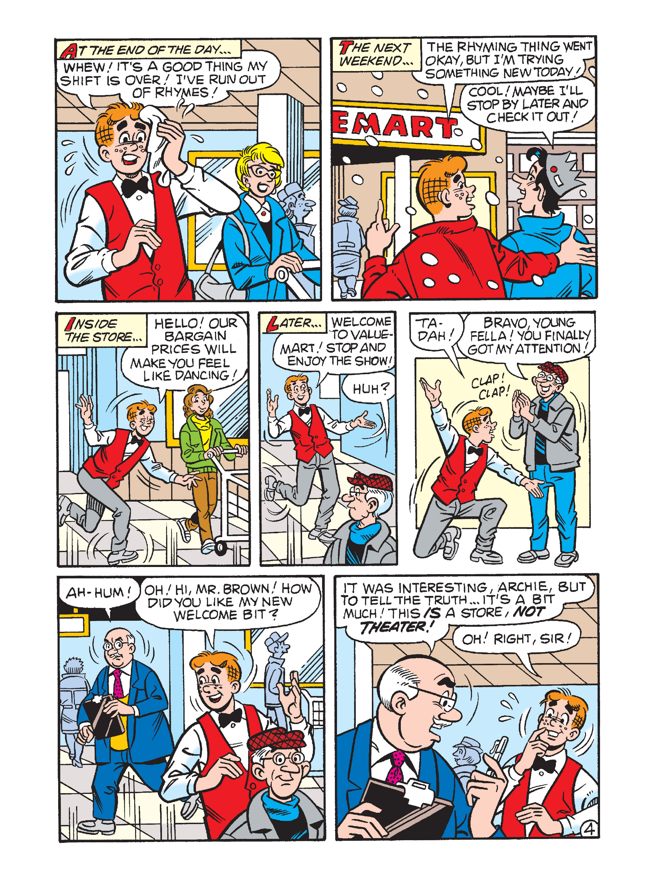 Read online Archie's Funhouse Double Digest comic -  Issue #1 - 71