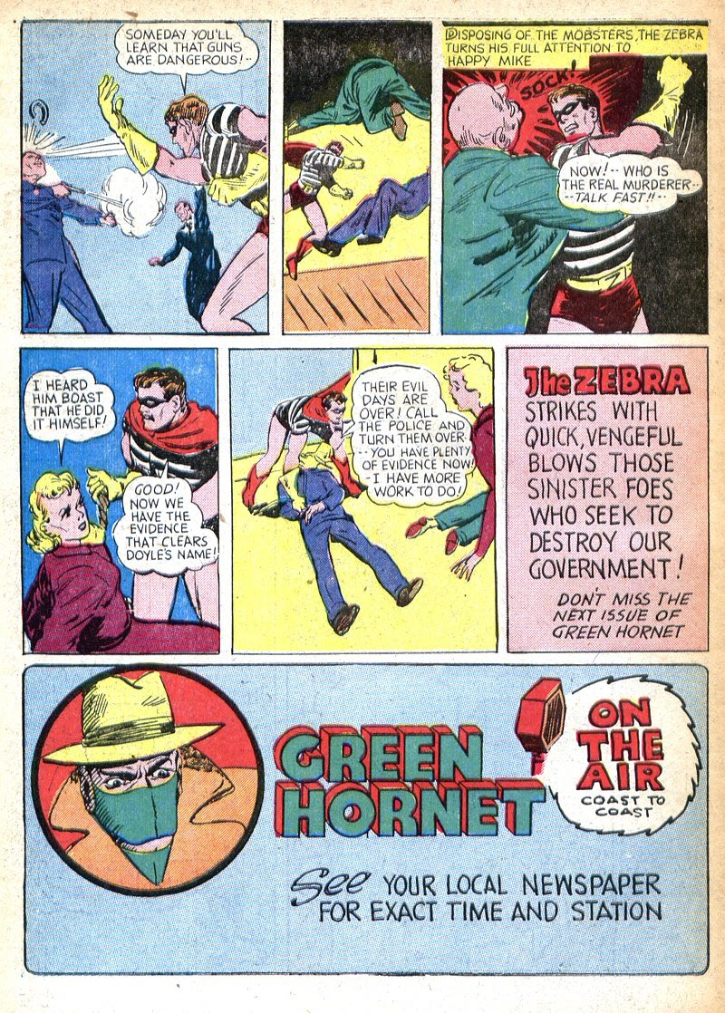 Green Hornet Comics issue 7 - Page 58