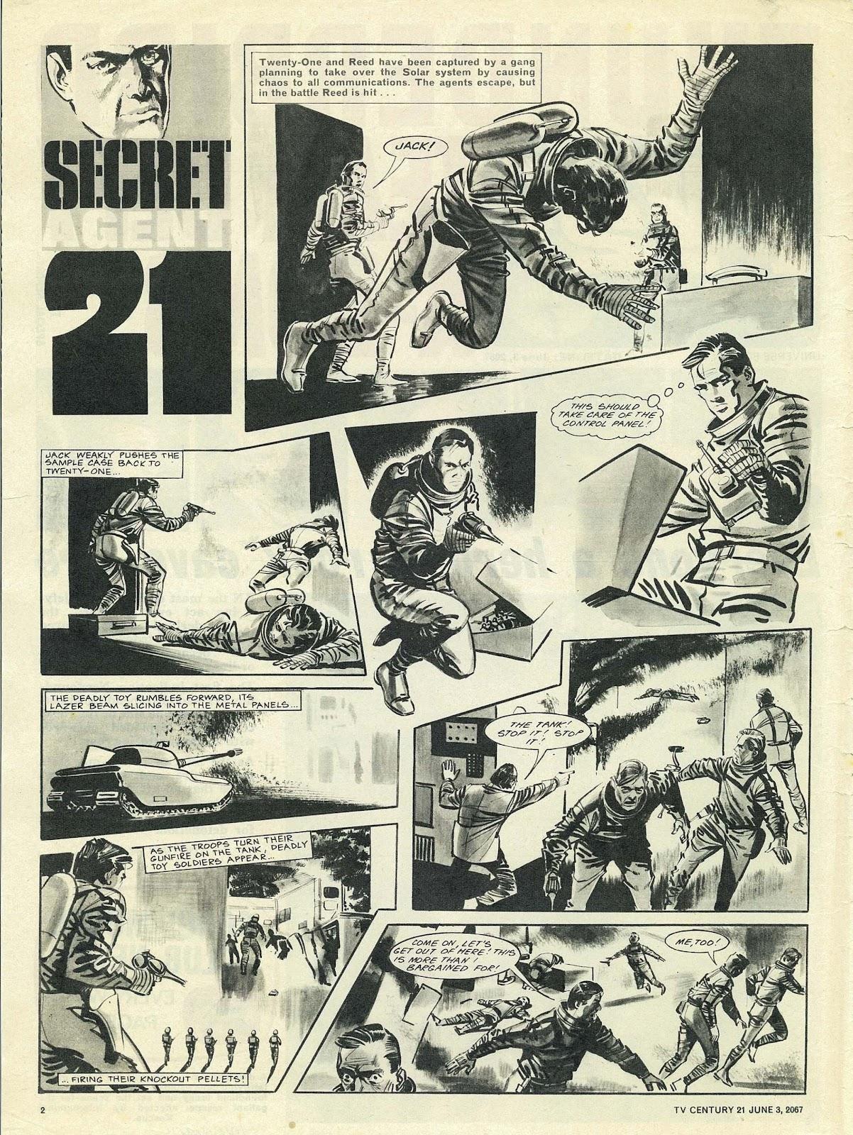 TV Century 21 (TV 21) issue 124 - Page 2