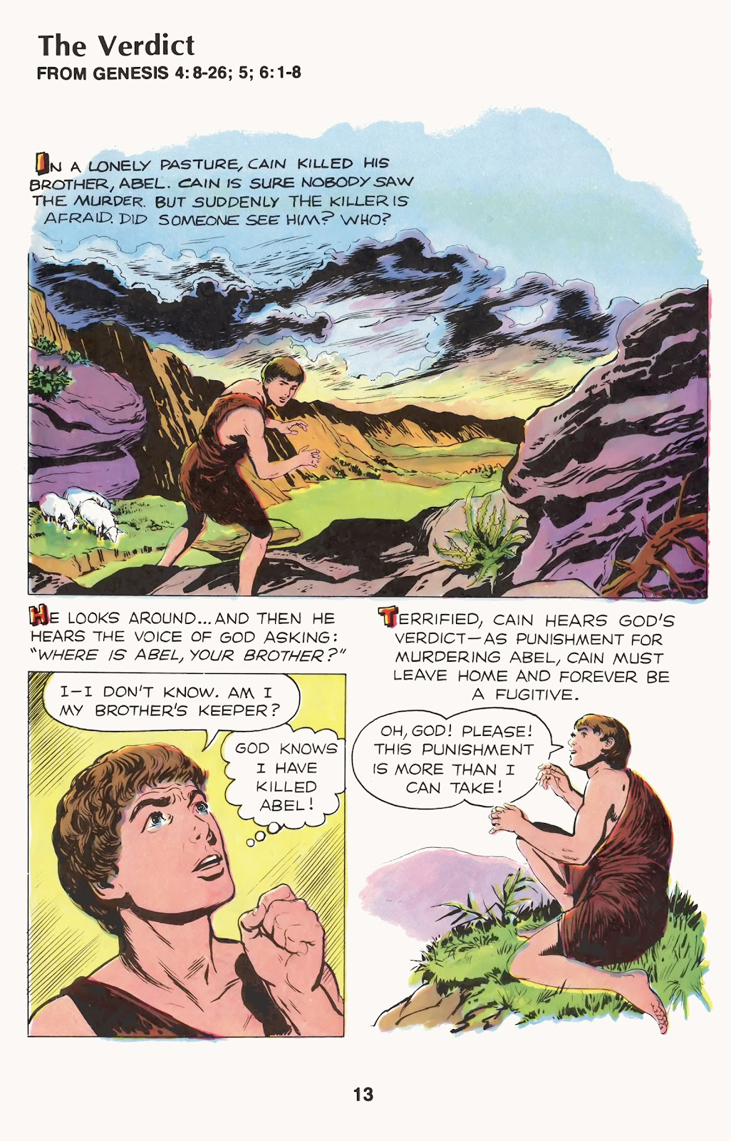 The Picture Bible issue TPB (Part 1) - Page 15