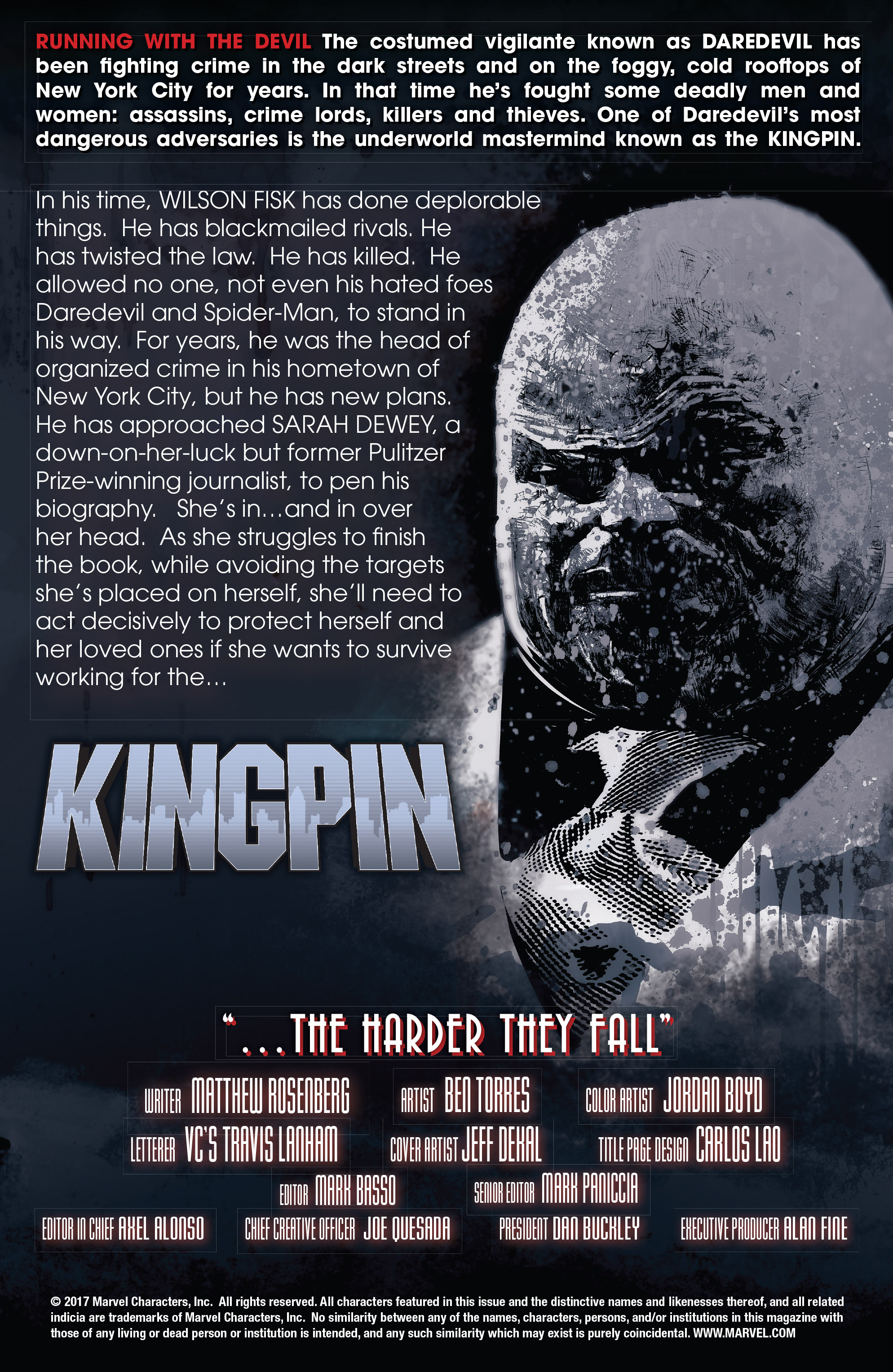 Read online Kingpin (2017) comic -  Issue #5 - 2