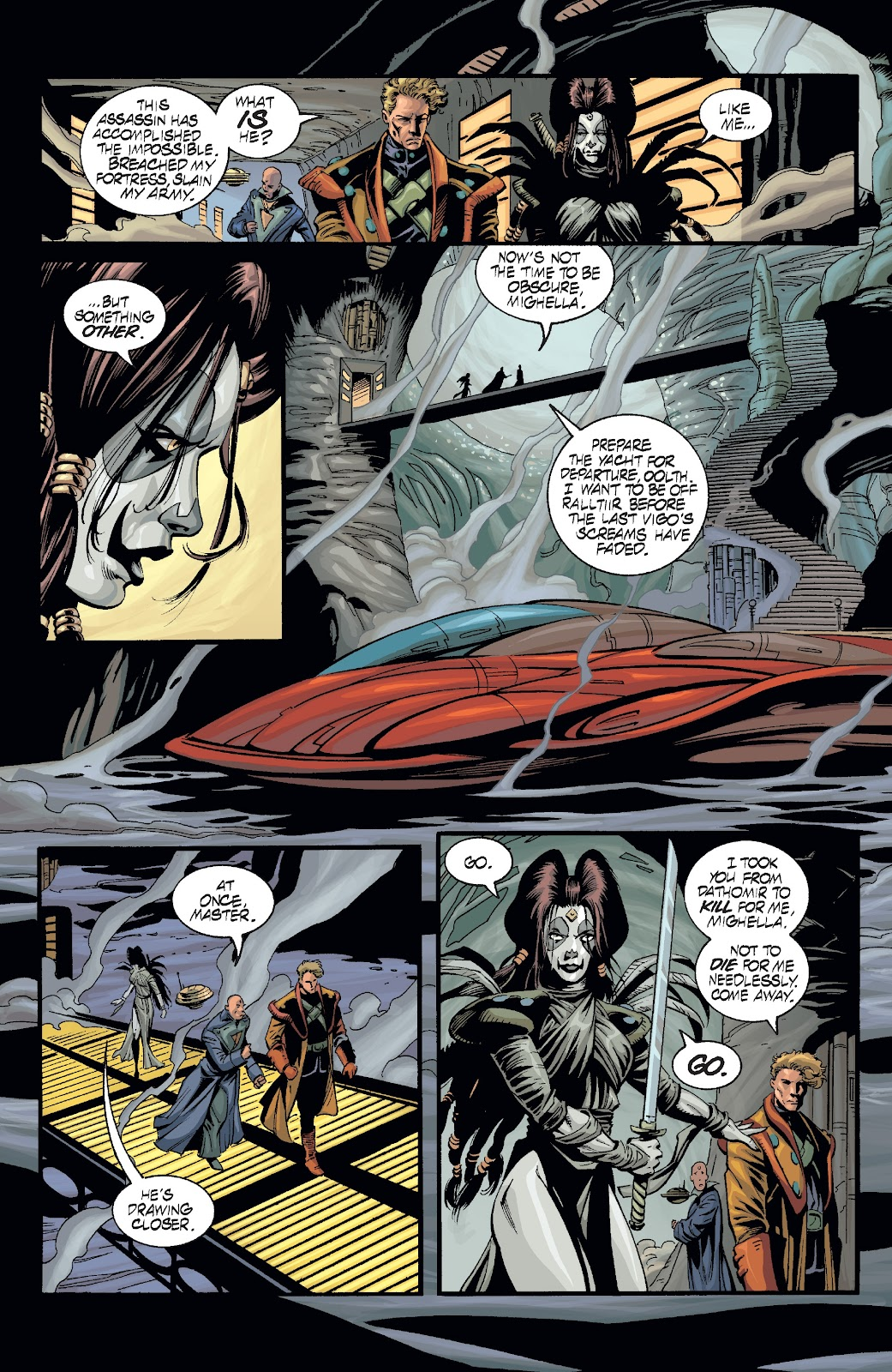 Read online Star Wars Legends: Rise of the Sith - Epic Collection comic -  Issue # TPB 2 (Part 3) - 16