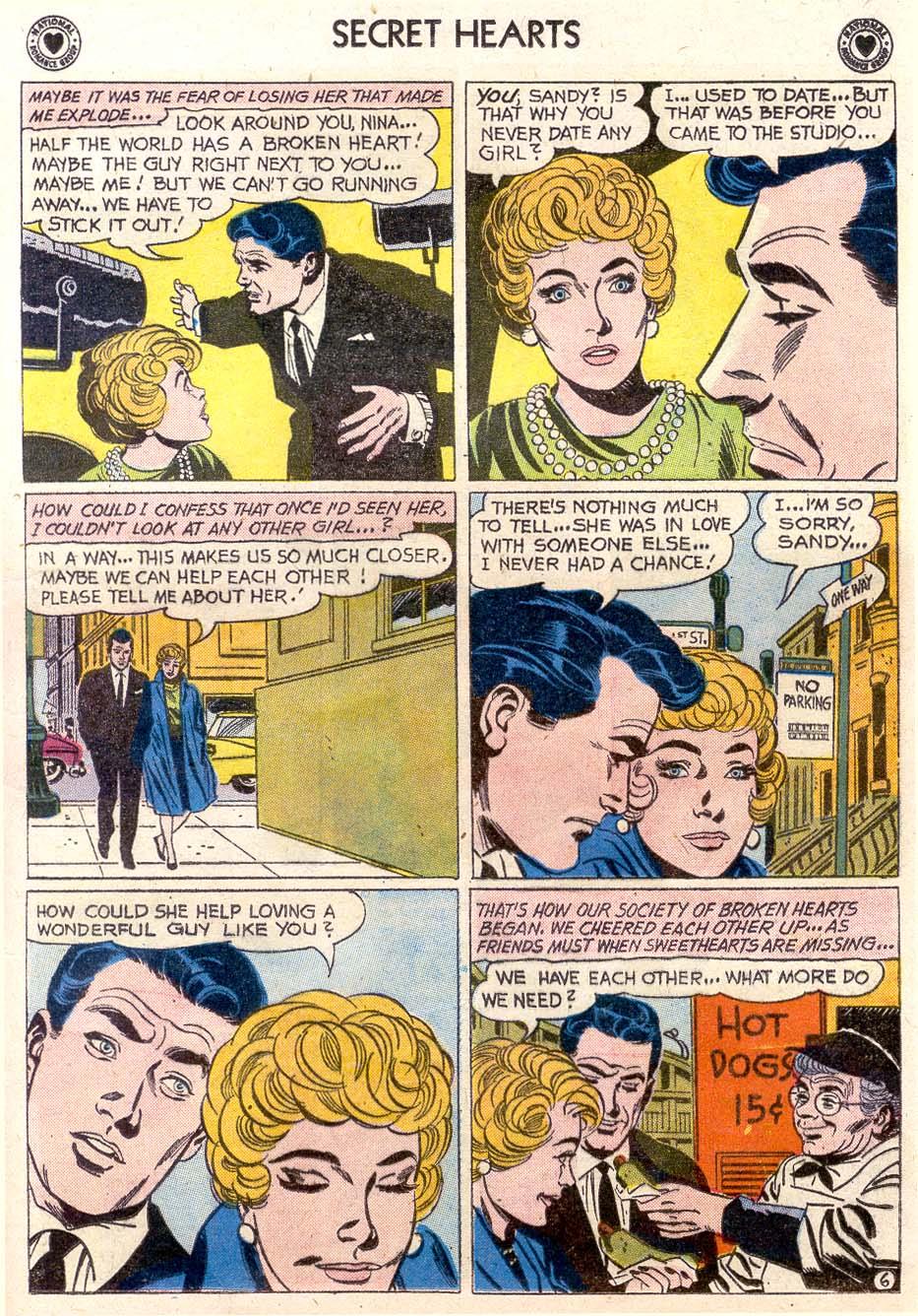 Read online Secret Hearts comic -  Issue #65 - 13