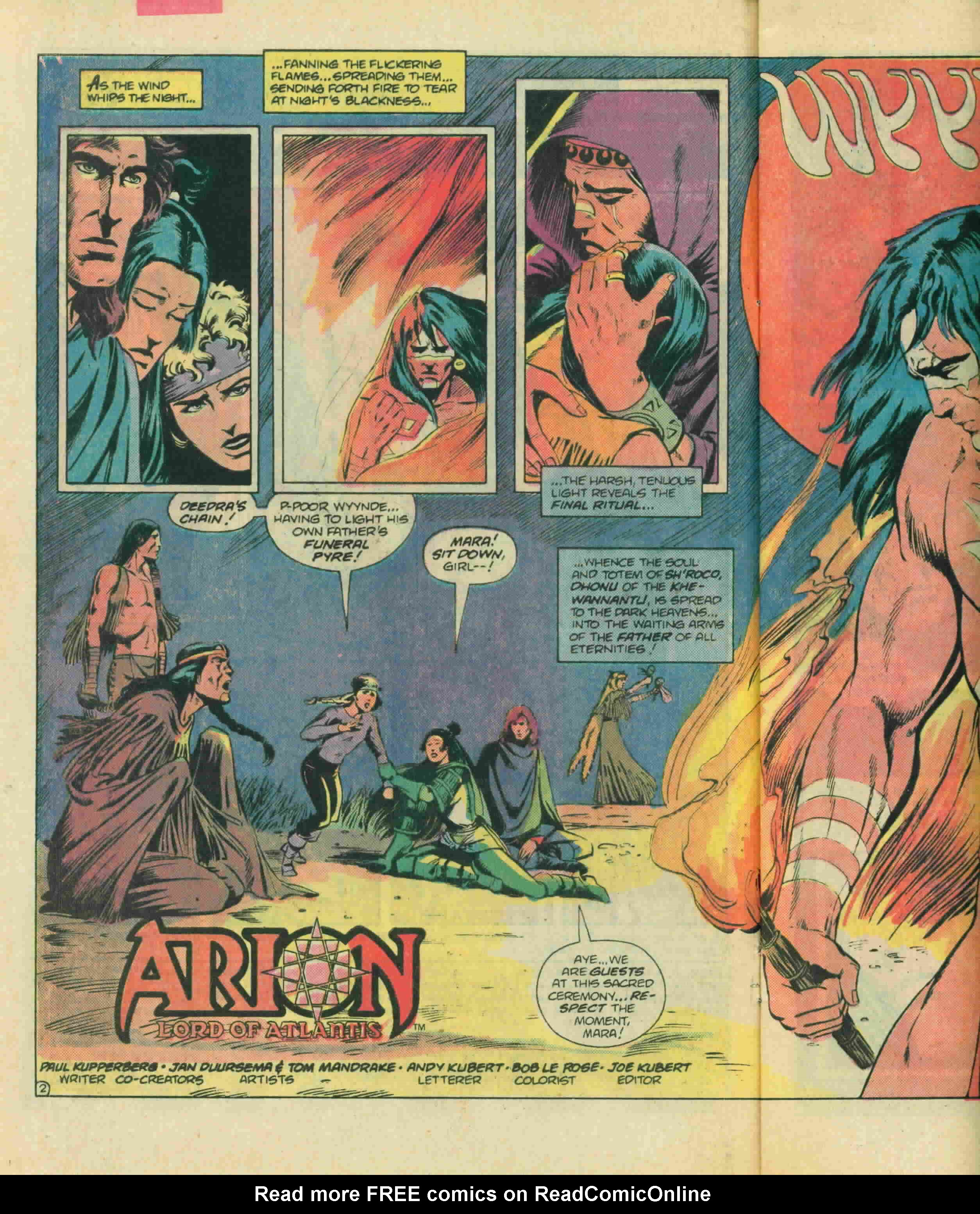 Read online Arion, Lord of Atlantis comic -  Issue #13 - 5
