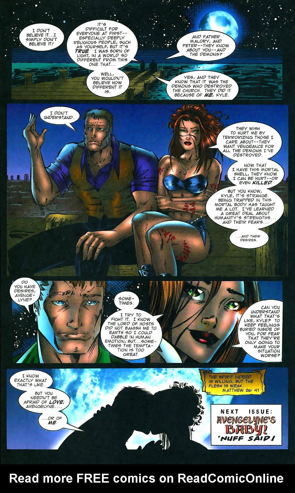 Read online Avengelyne (1996) comic -  Issue #1 - 27