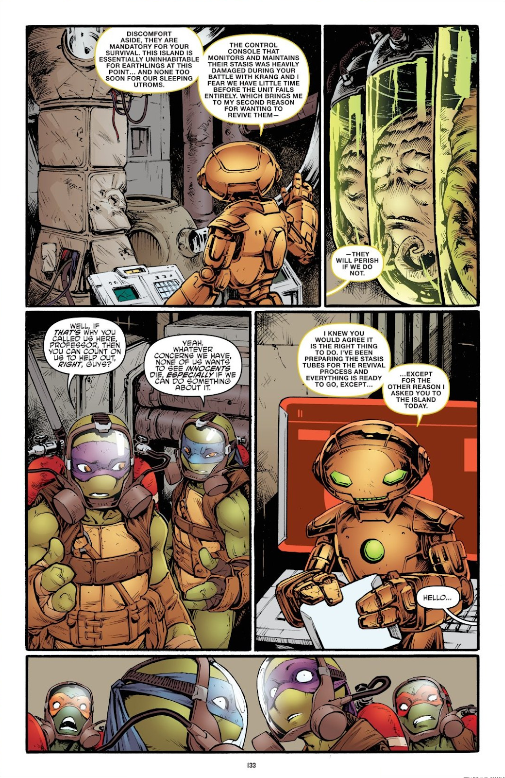 Read online Teenage Mutant Ninja Turtles: The IDW Collection comic -  Issue # TPB 7 (Part 2) - 29