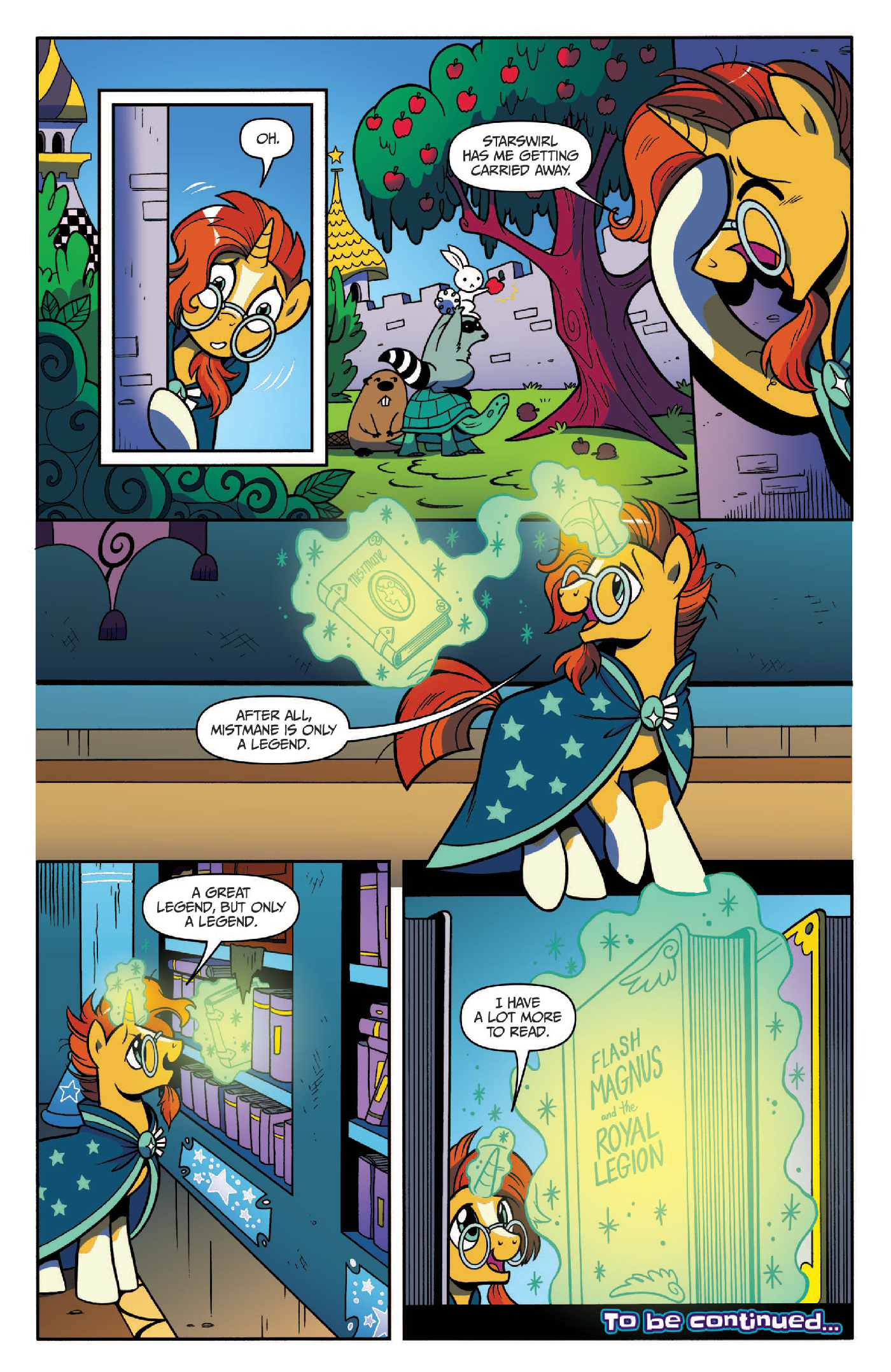 Read online My Little Pony: Legends of Magic comic -  Issue #3 - 22
